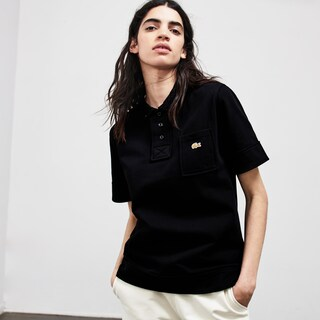 Polo molleton unisexe regular fit Lacoste LIVE x Opening Ceremony
