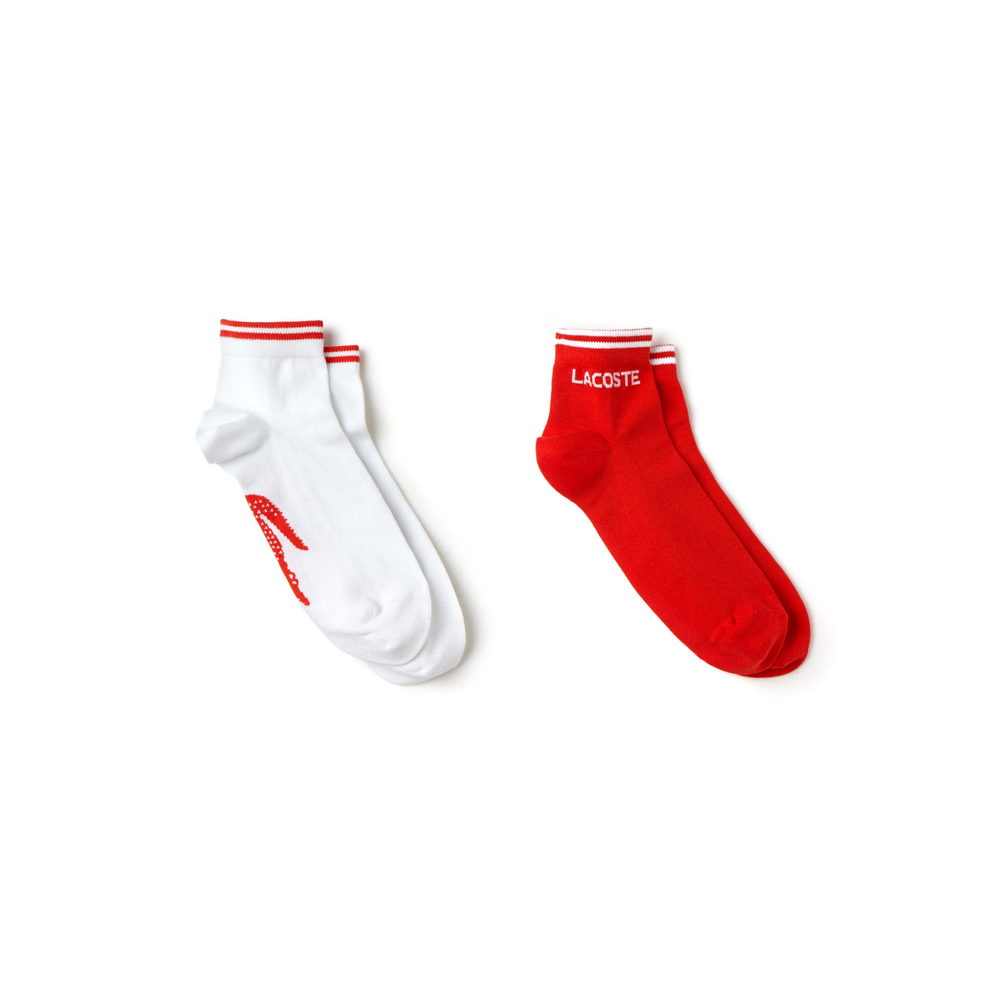 Lot de 2 paires de chaussettes Lacoste SPORT en jersey jacquard