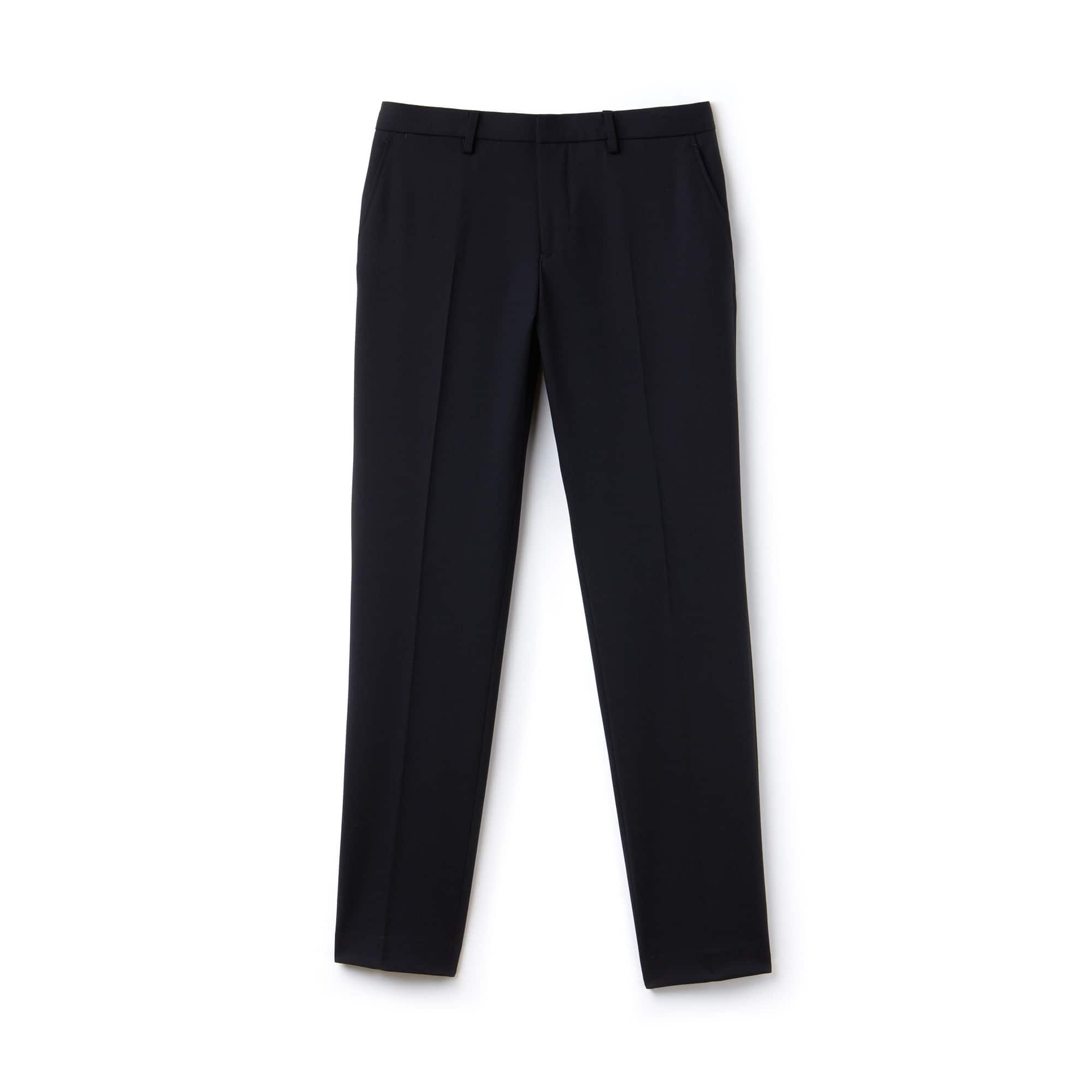 Pantalon chino slim fit en twill stretch uni