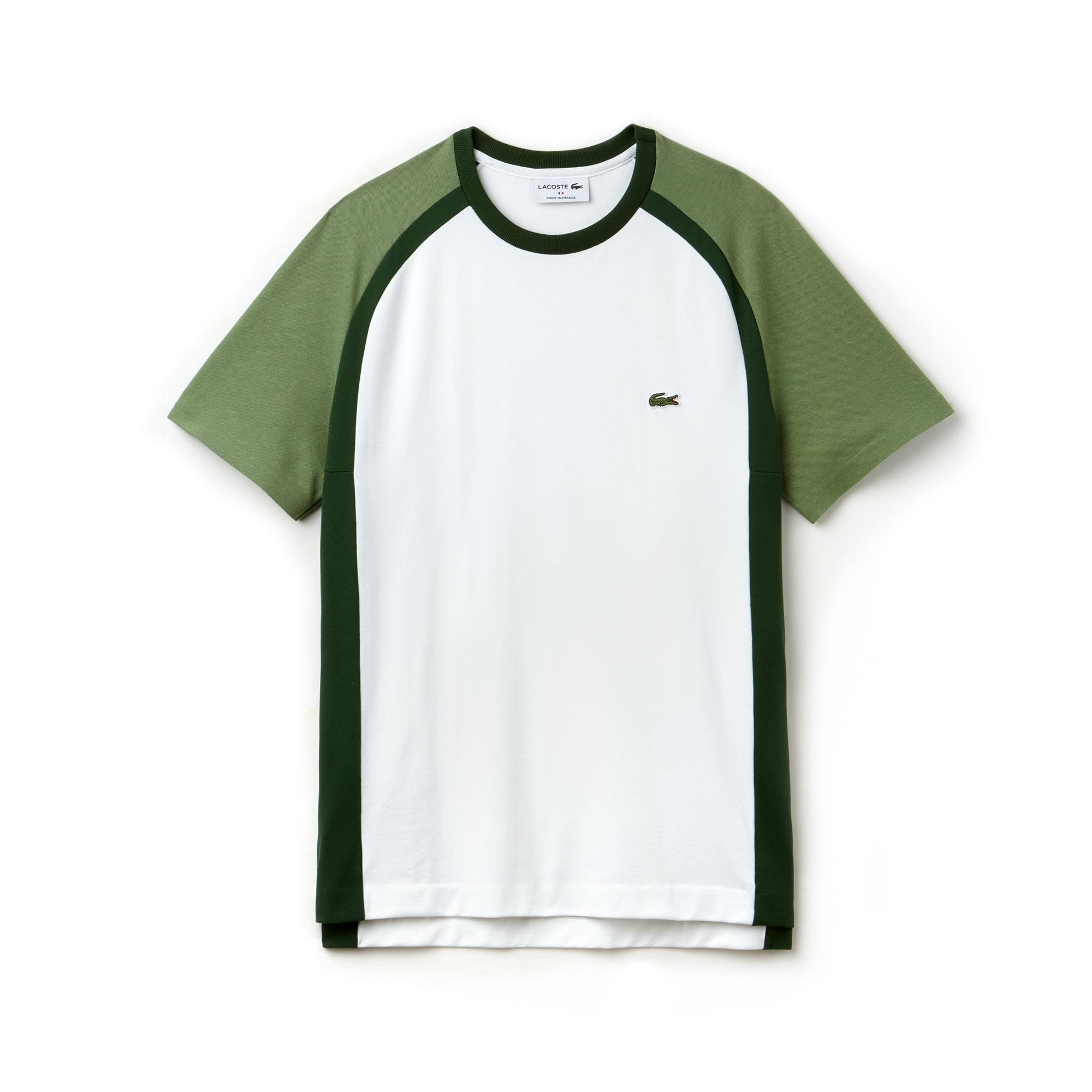 T-shirt col rond Made in France en piqué technique