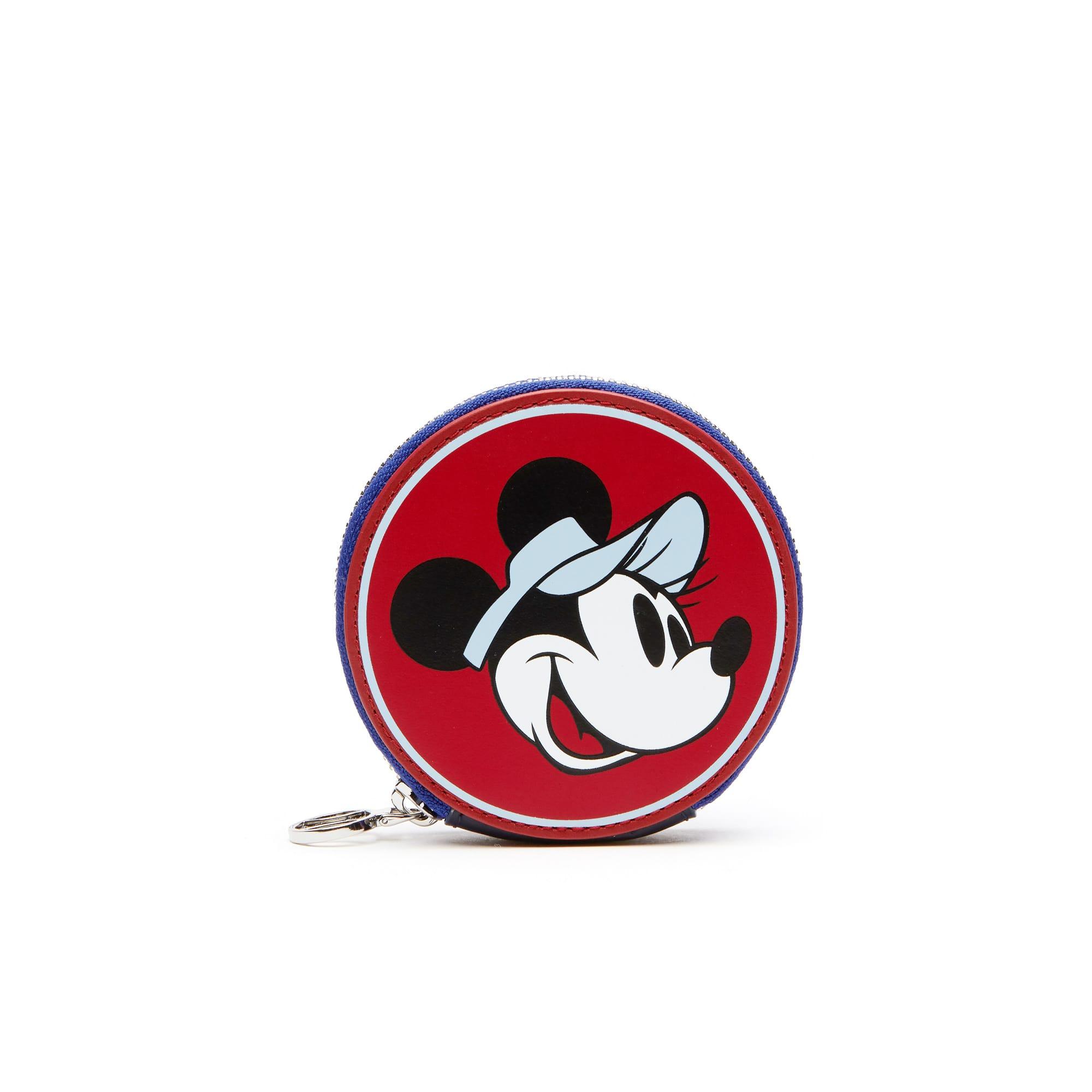 Porte-monnaie Holiday Collector en cuir imprimé Minnie Collab Disney