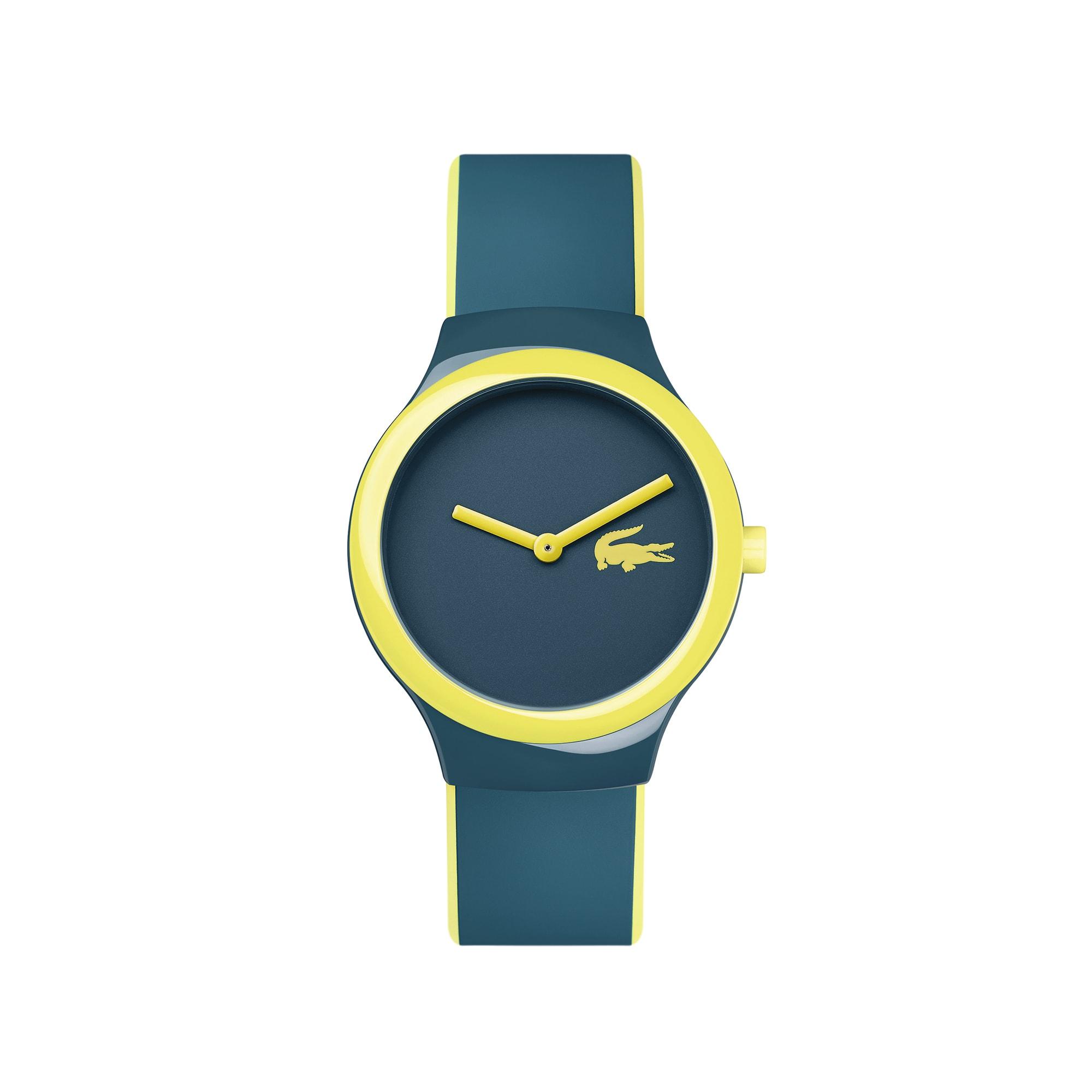 Montre Goa new bleue-grise et jaune