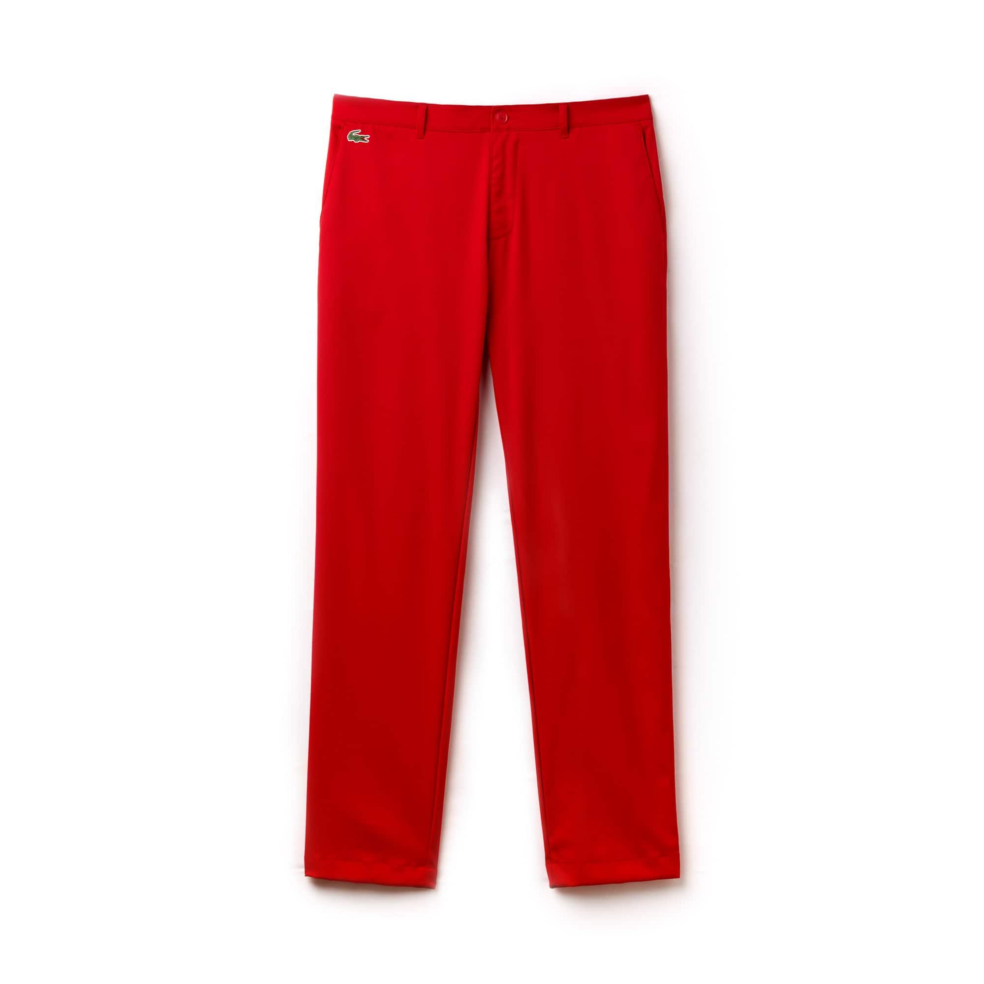 Pantalon chino Golf Lacoste SPORT en gabardine technique ultra dry uni