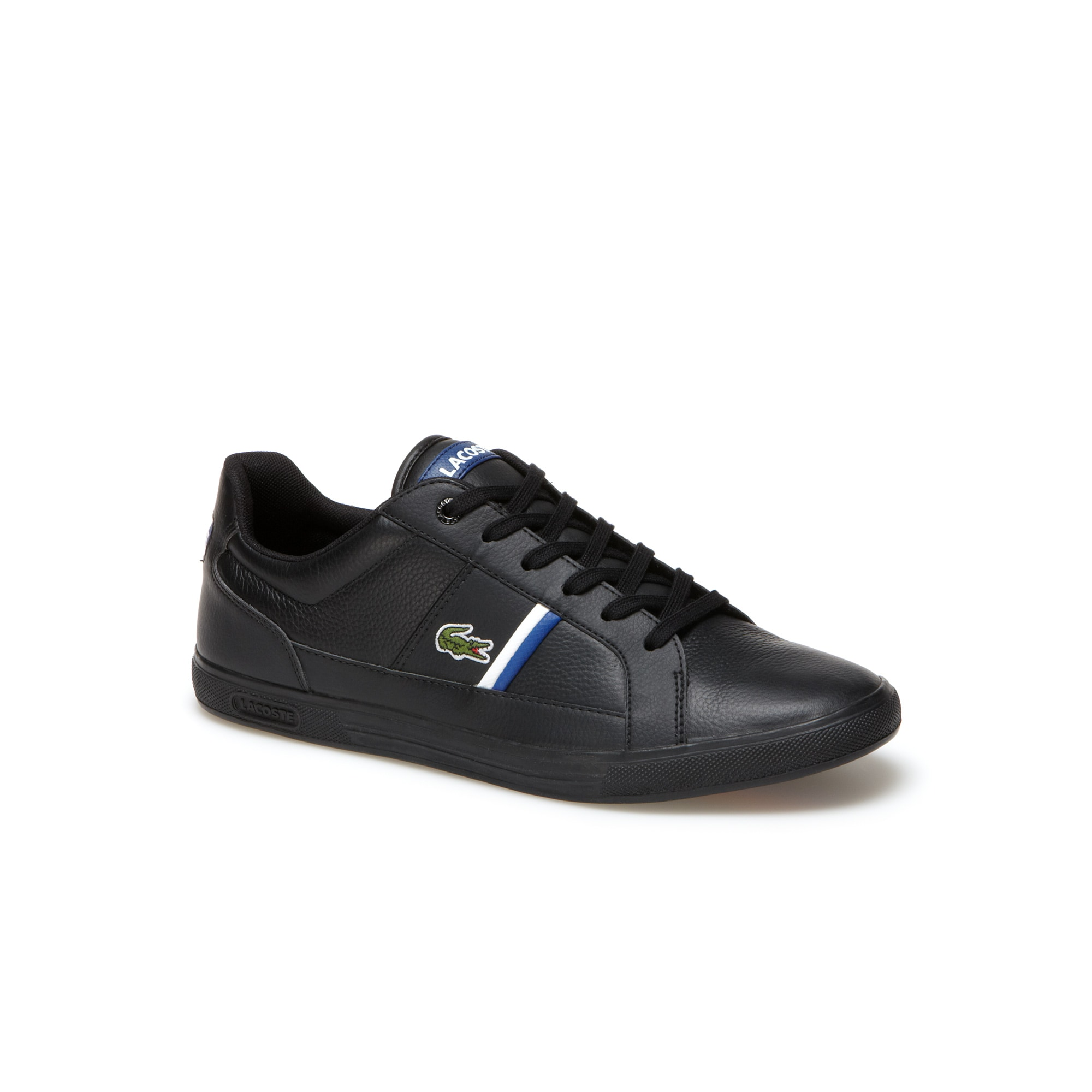 Sneakers Europa in pelle premium con particolari tricolori