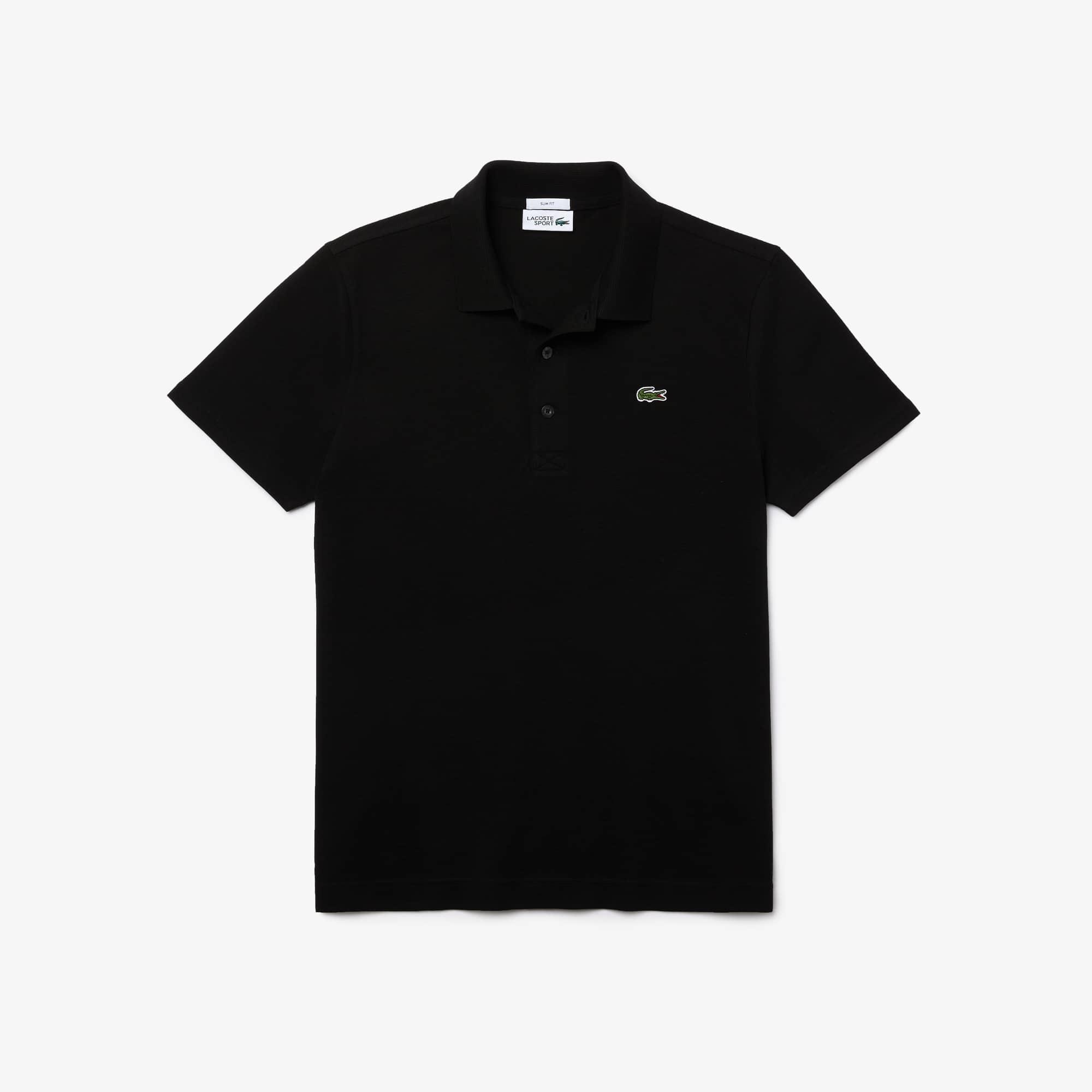 Polo Tennis Lacoste SPORT in maglia di cotone ultra leggera