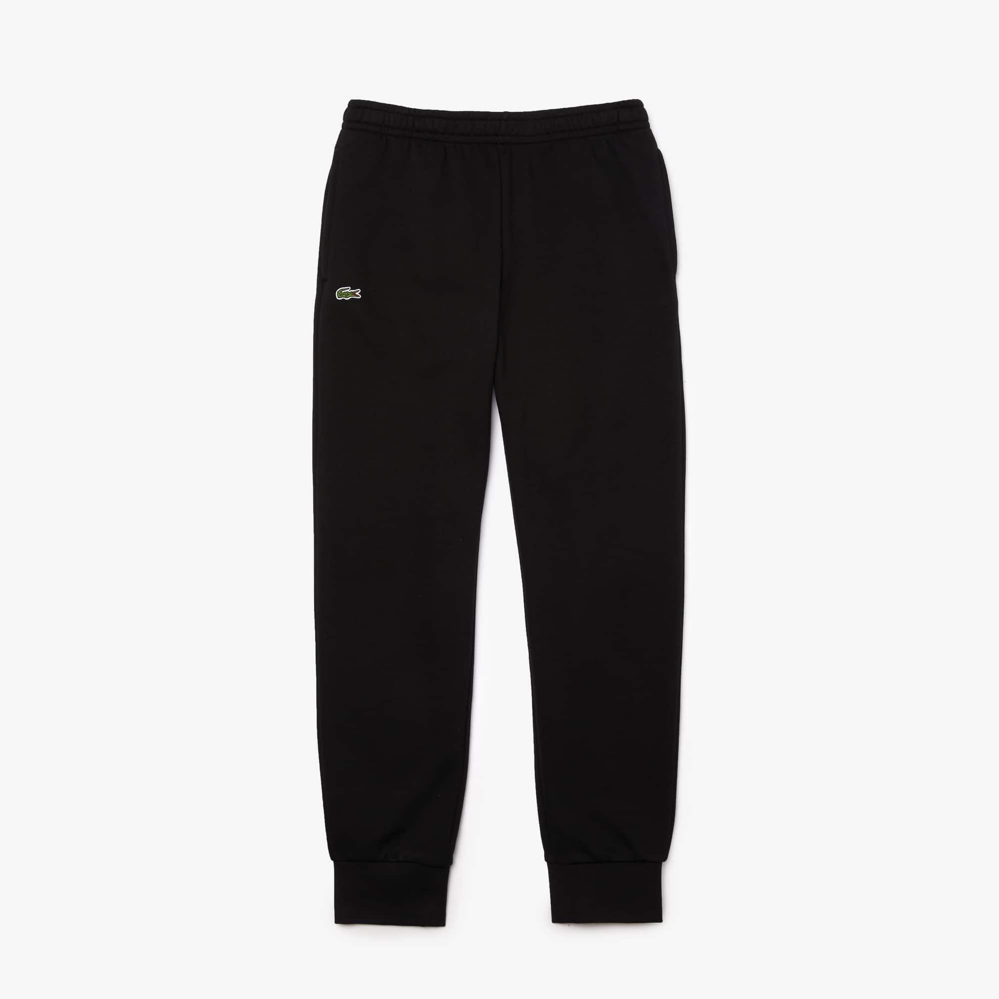Pantaloni tuta Tennis Lacoste SPORT in cotone tinta unita
