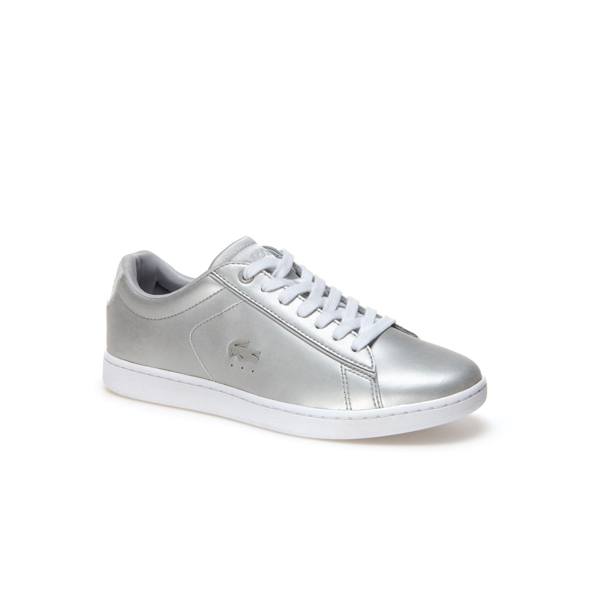 Sneakers Carnaby Evo in pelle con finitura metallizzata