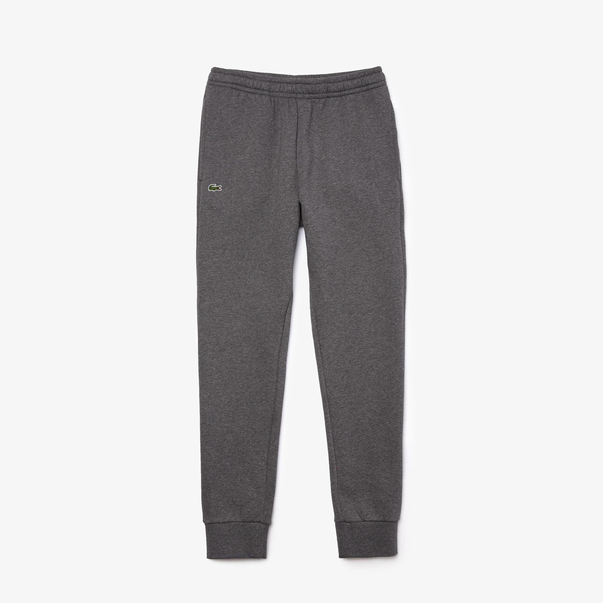 Pantaloni tuta Tennis Lacoste SPORT in mollettone di cotone tinta unita