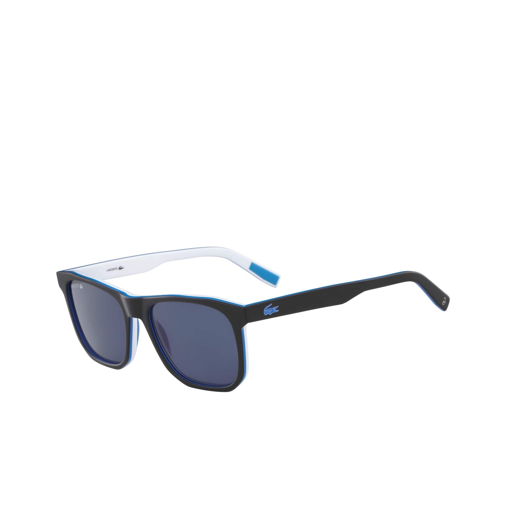 Occhiali da sole Stripes & Piping - LT12 da uomo con montatura in acetato