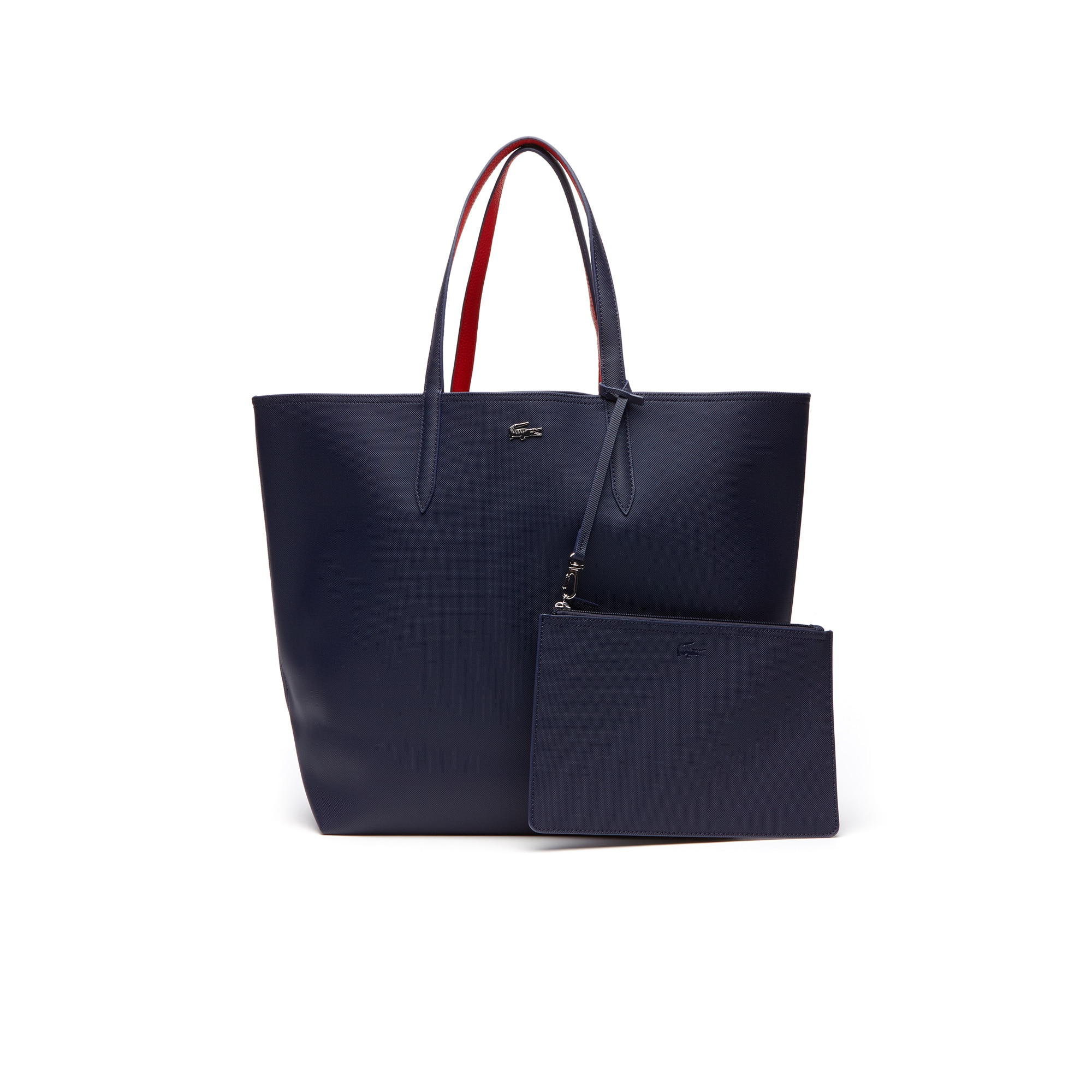 Grande shopping bag Anna reversibile bicolore