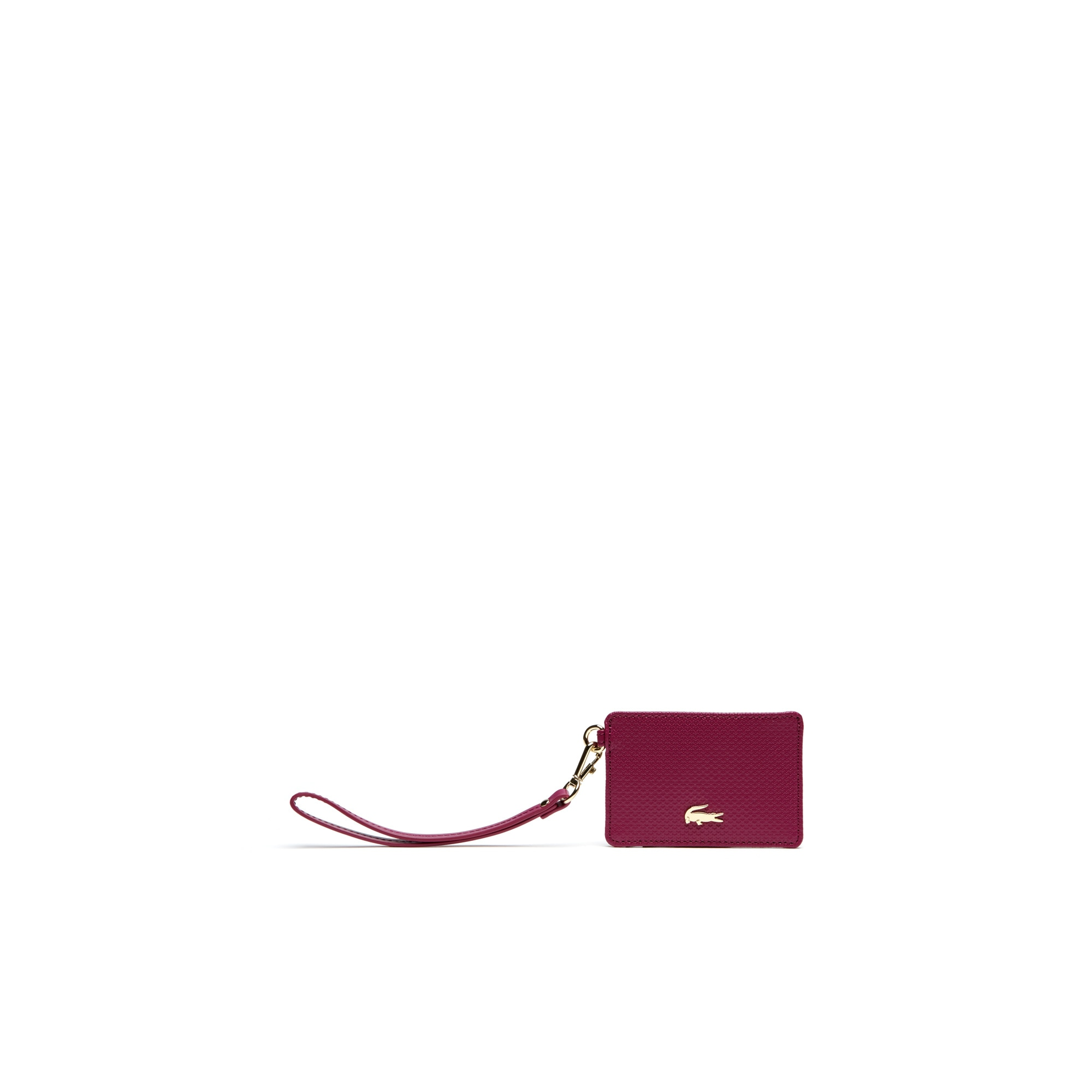 Porta carte di credito Chantaco in pelle tinta unita