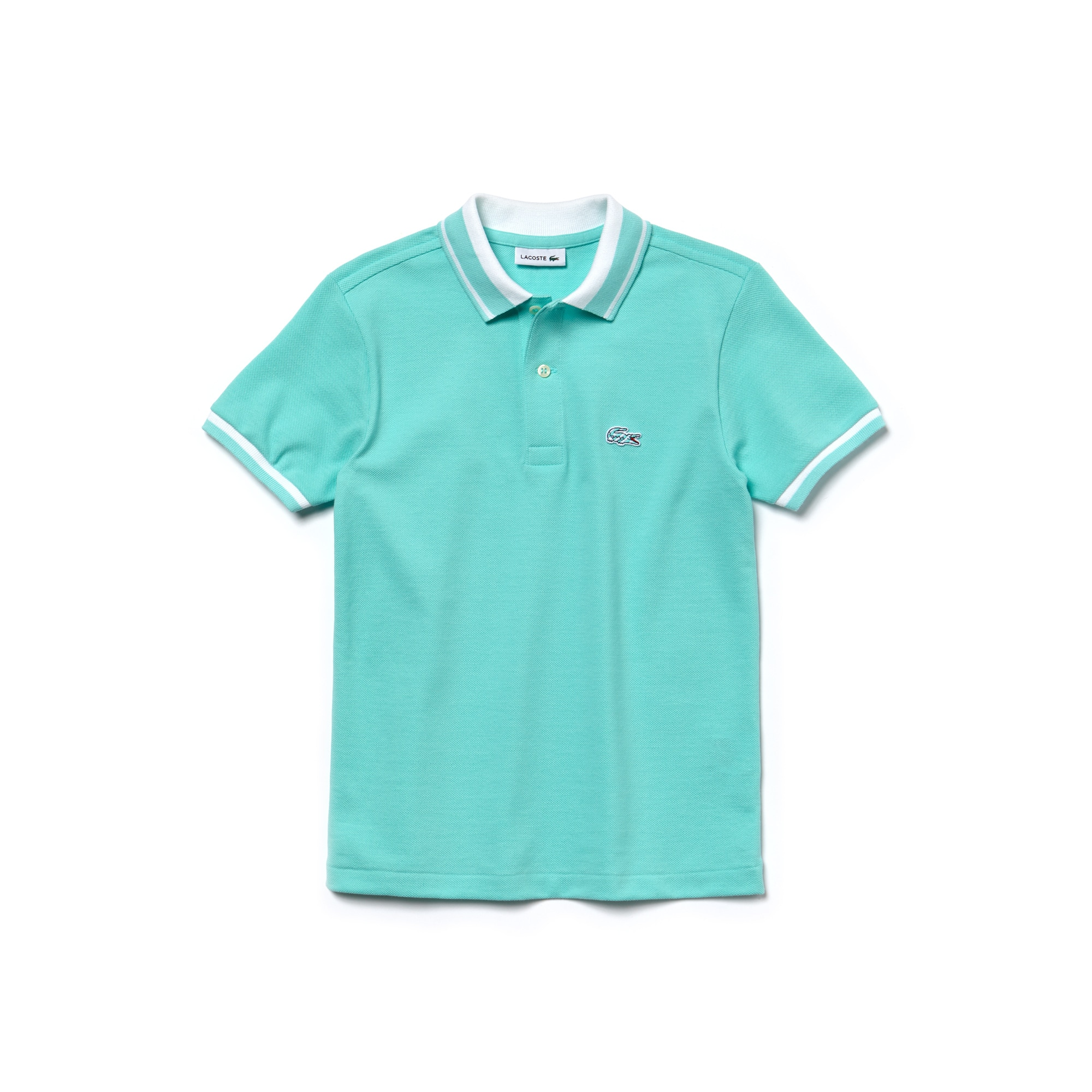 Polo classic fit Kids Lacoste in petit piqué a 2 capi