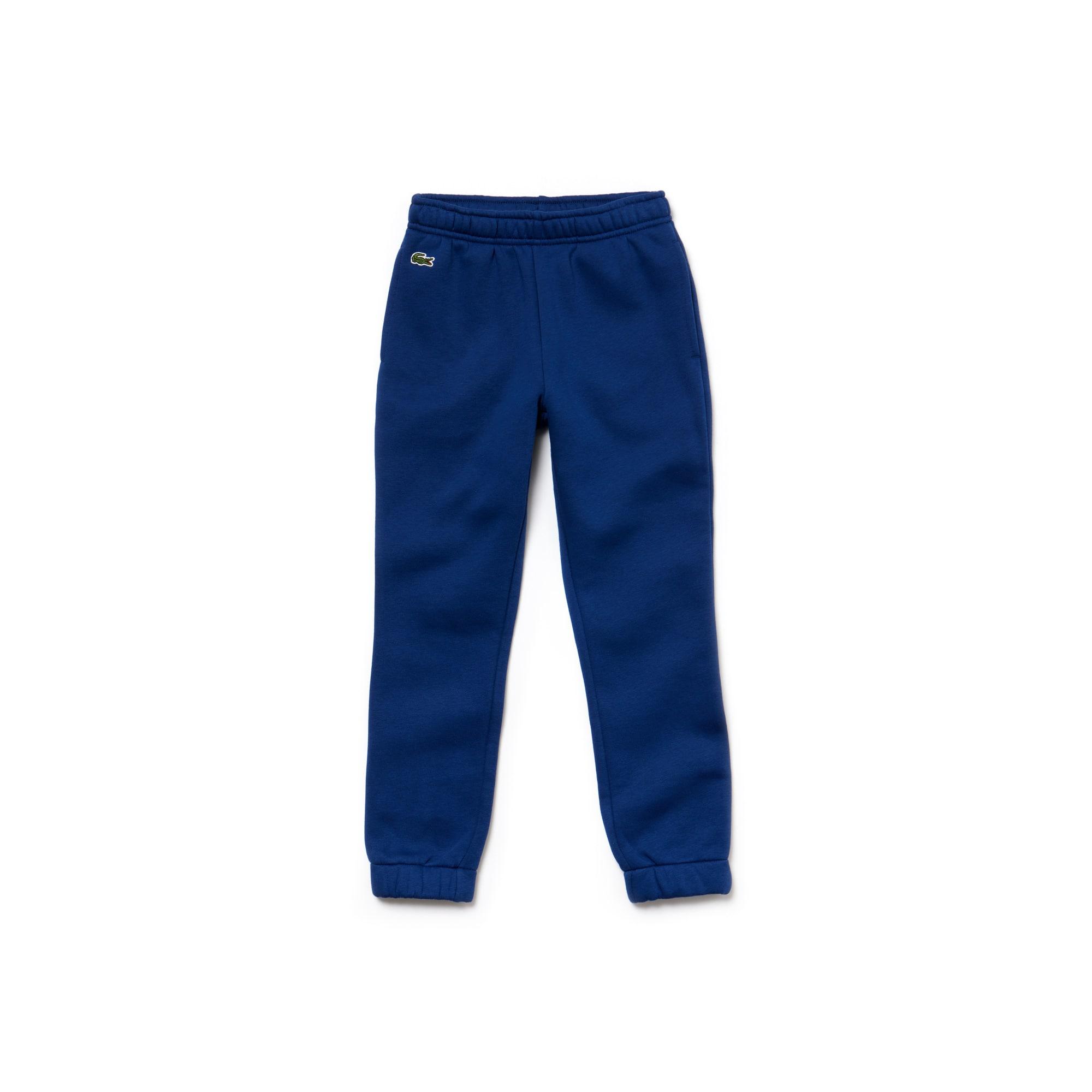 Pantaloni tuta da bambino Tennis Lacoste Sport in cotone
