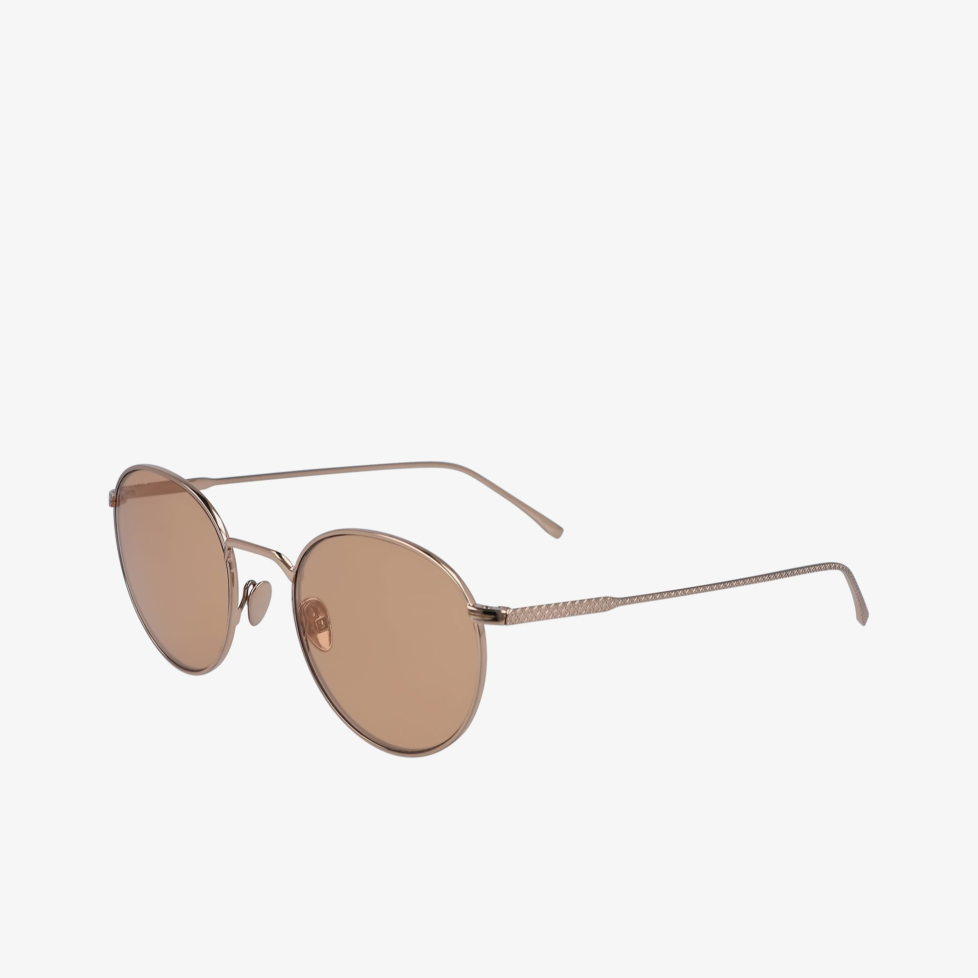 Round Metal Ultra-Thin Sunglasses