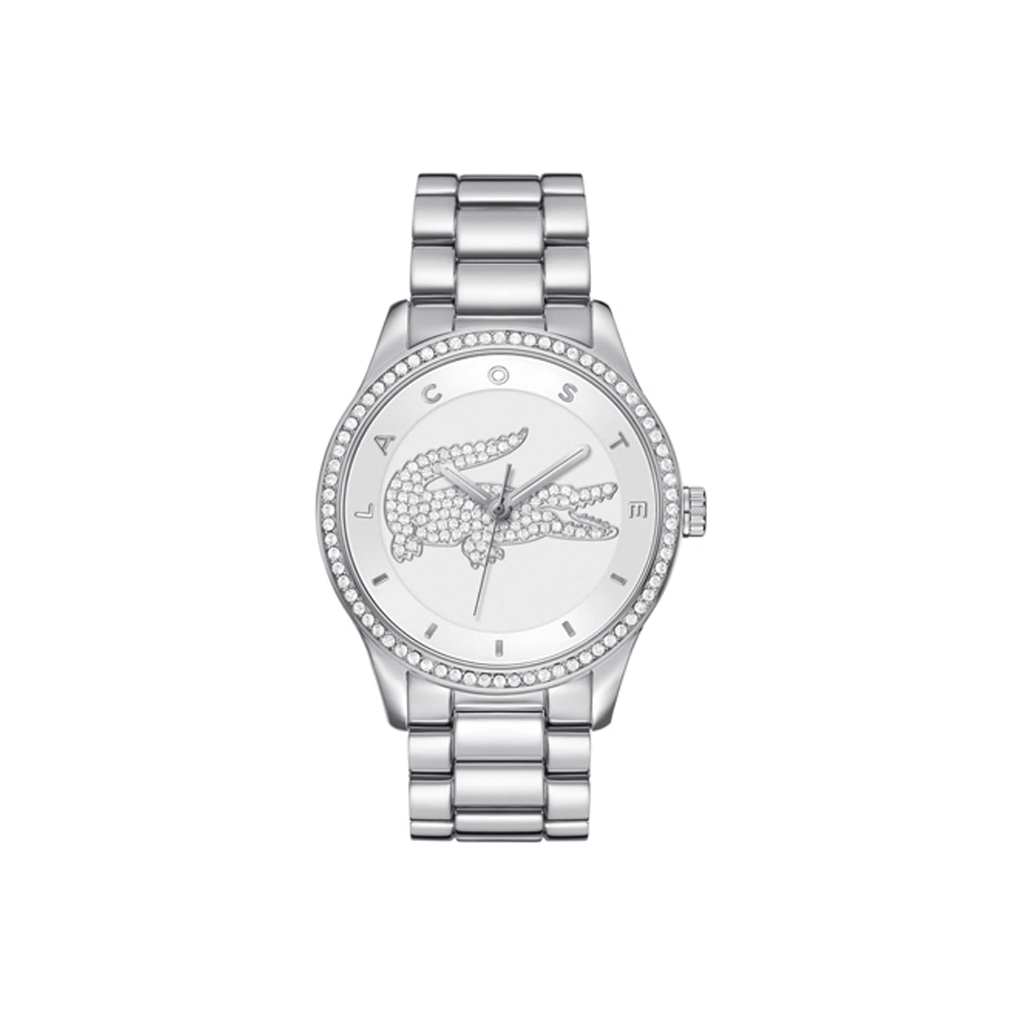Victoria watch with crystal crocodile
