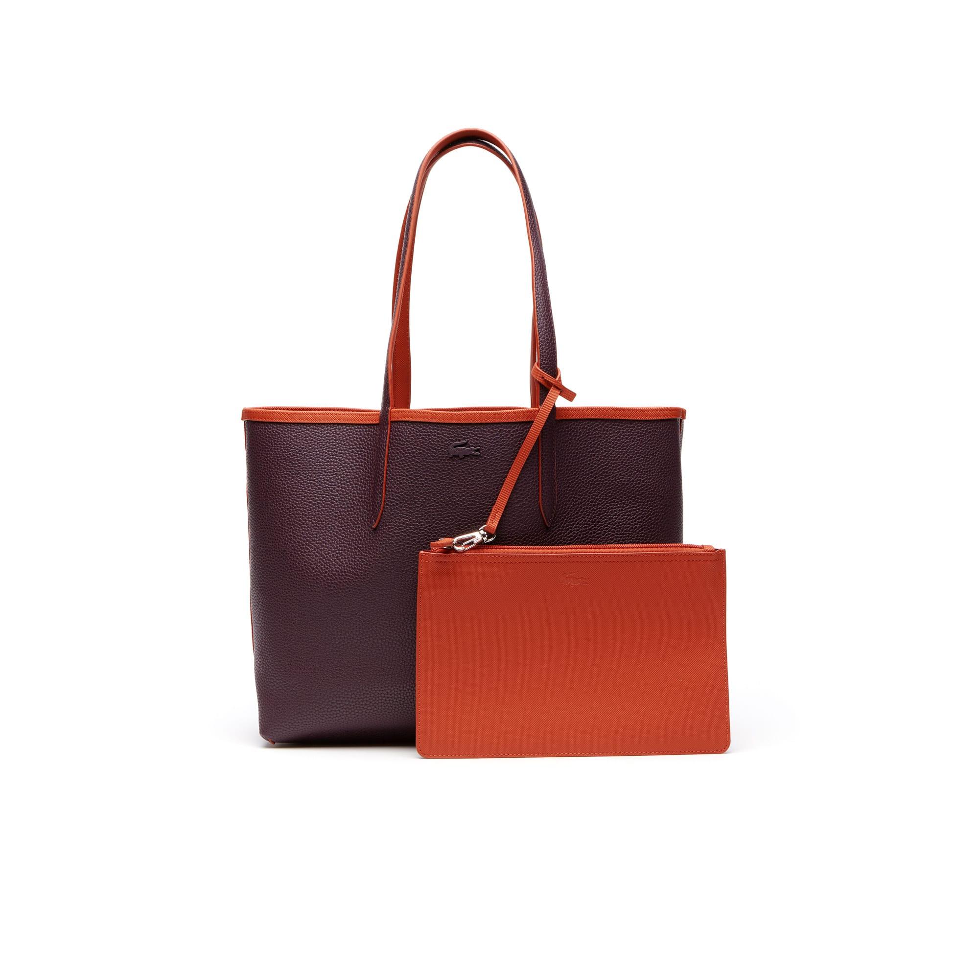 Shopping bag Anna reversibile bicolore