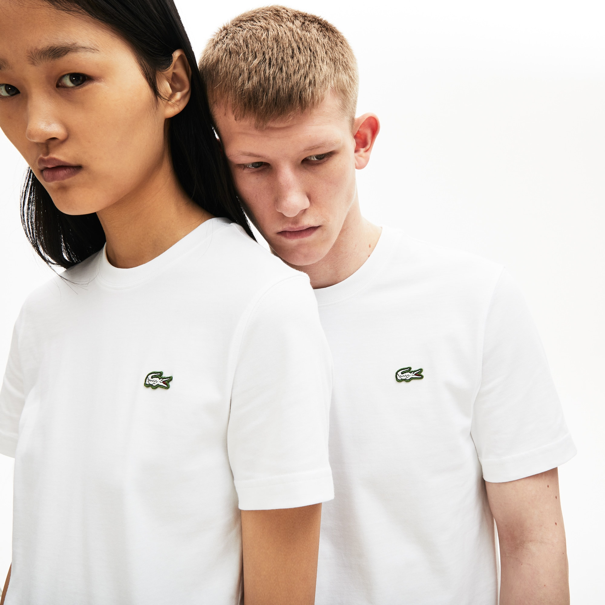 T-shirt unisex in cotone Lacoste LIVE