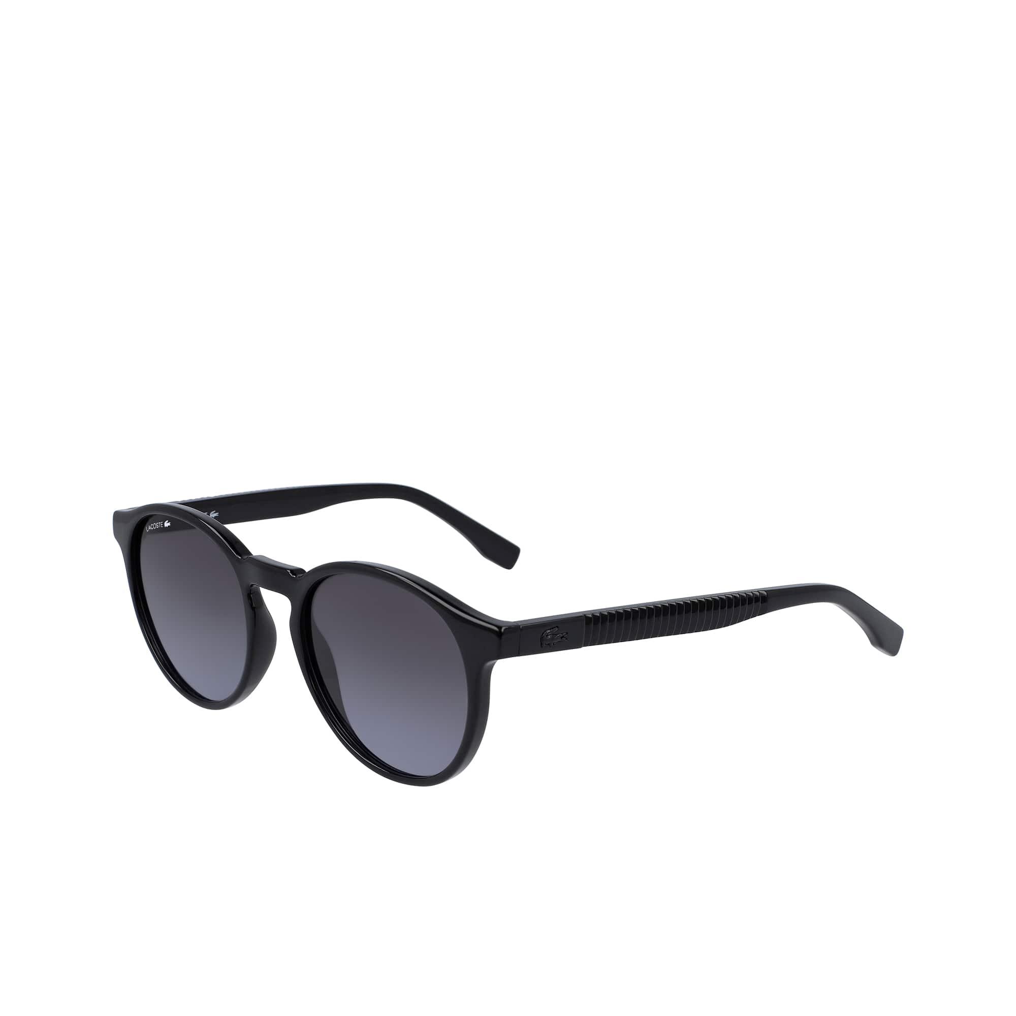 Plastic Plissé Sunglasses