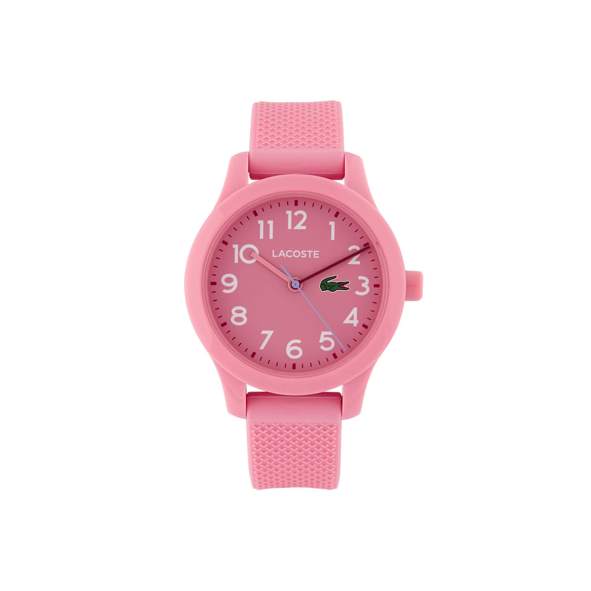 Orologio Lacoste 12.12 da bambino con cinturino in silicone rosa