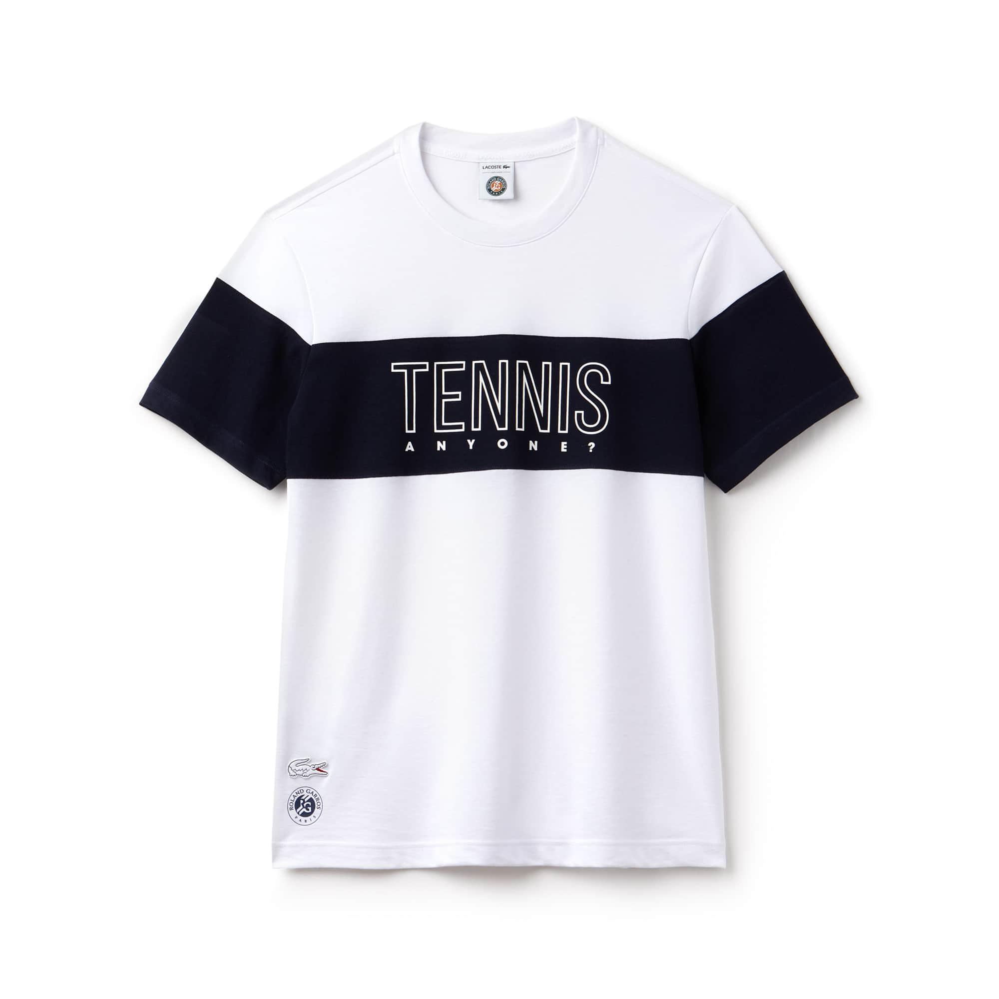 T-shirt Lacoste SPORT in jersey tecnico Edizione Roland Garros
