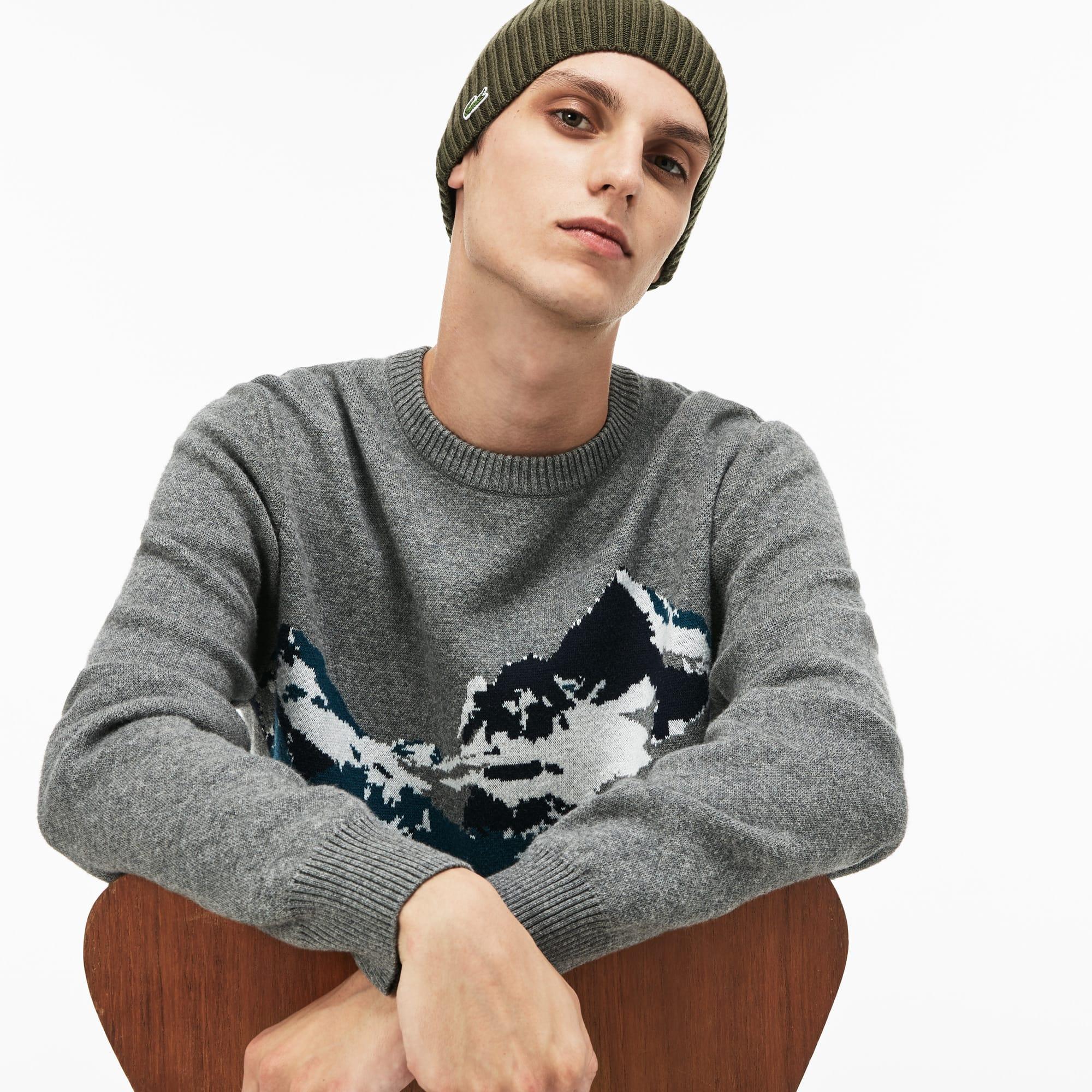 Berretto in lana a costine