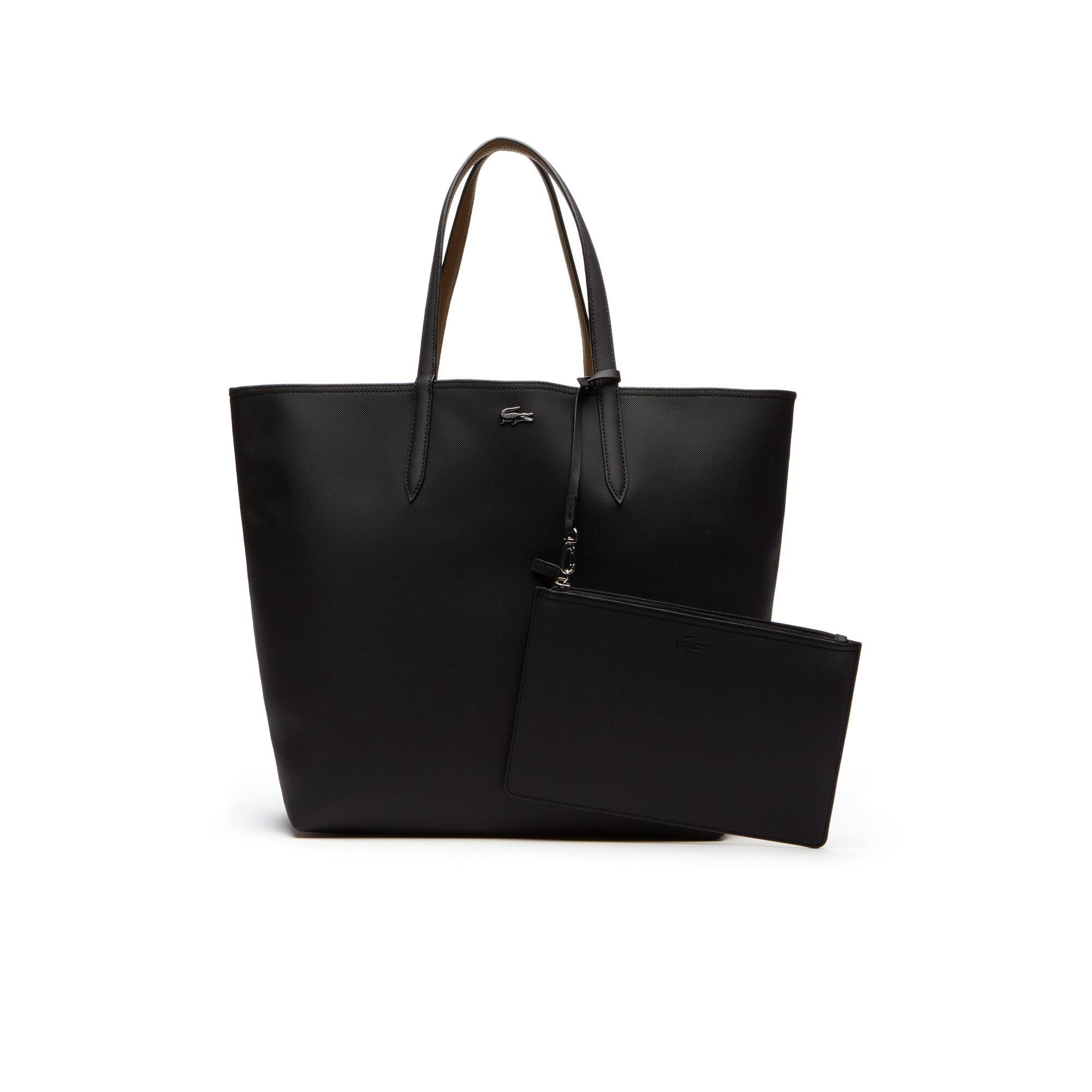 Grande shopping bag Anna reversibile bicolore