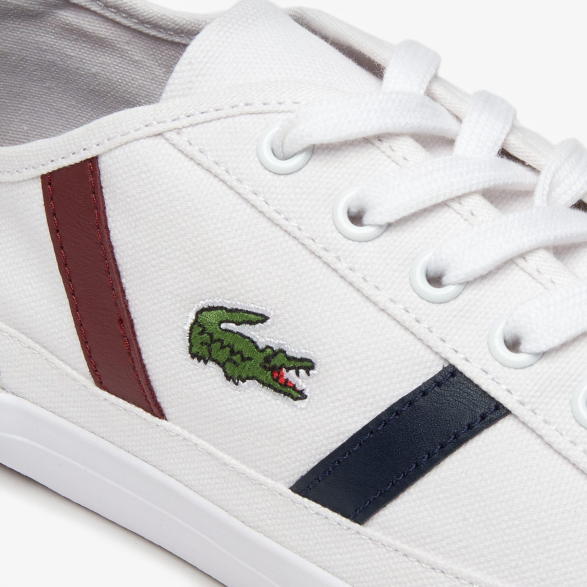 Sneakers da uomo in canvas e pelle Sideline