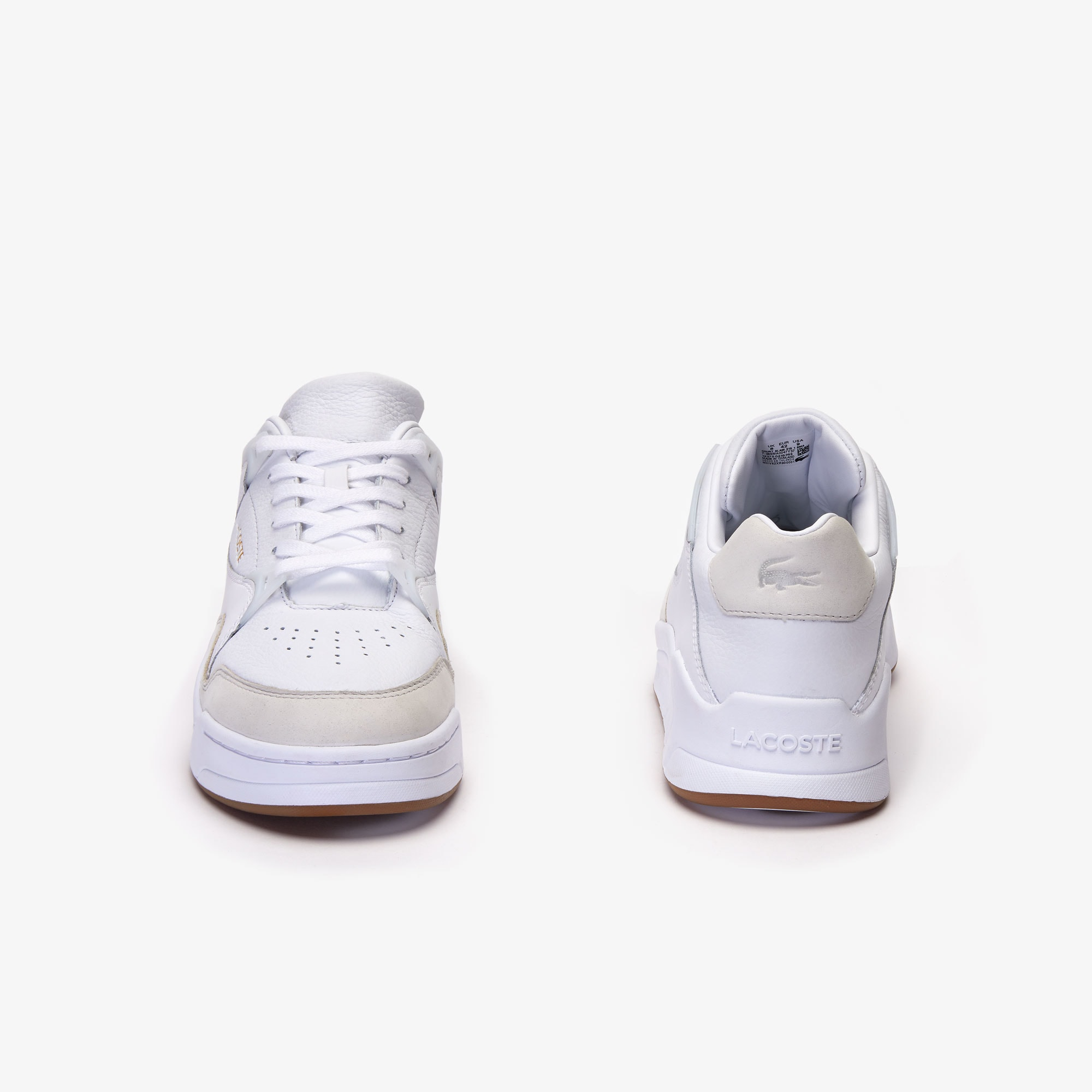 Sneakers da uomo in pelle tono su tono Court Slam