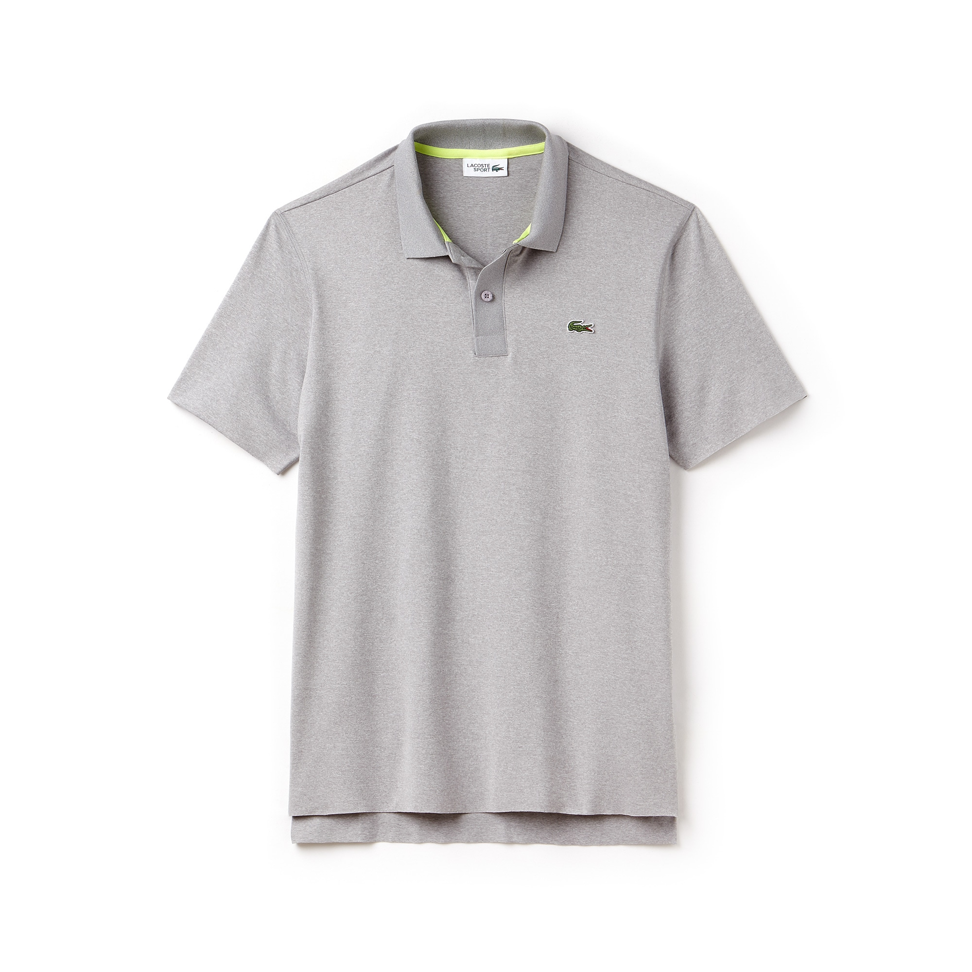 Polo Tennis Lacoste SPORT in jersey stretch chiné