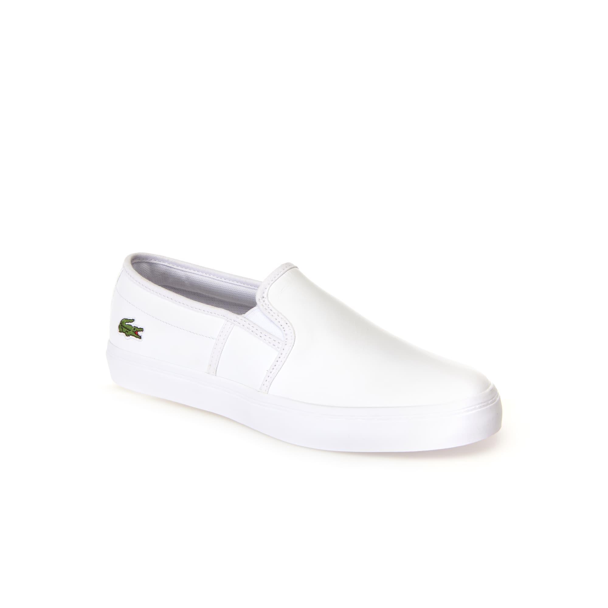 Sneakers senza stringhe Gazon in pelle