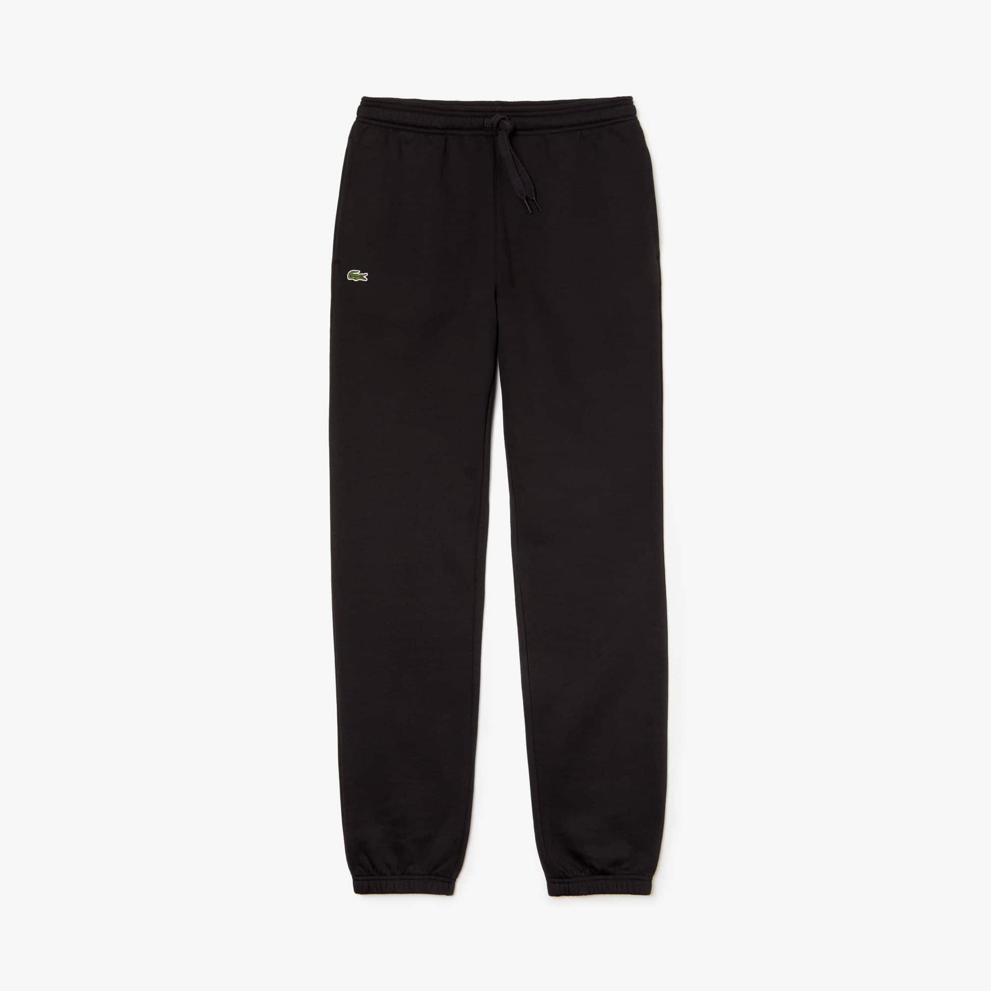 Pantaloni da ginnastica Lacoste SPORT in cotone tinta unita
