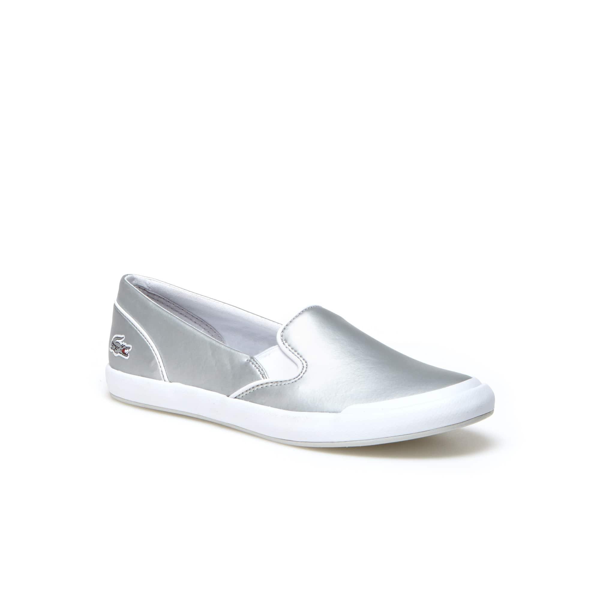Sneakers senza stringhe Lancelle in pelle