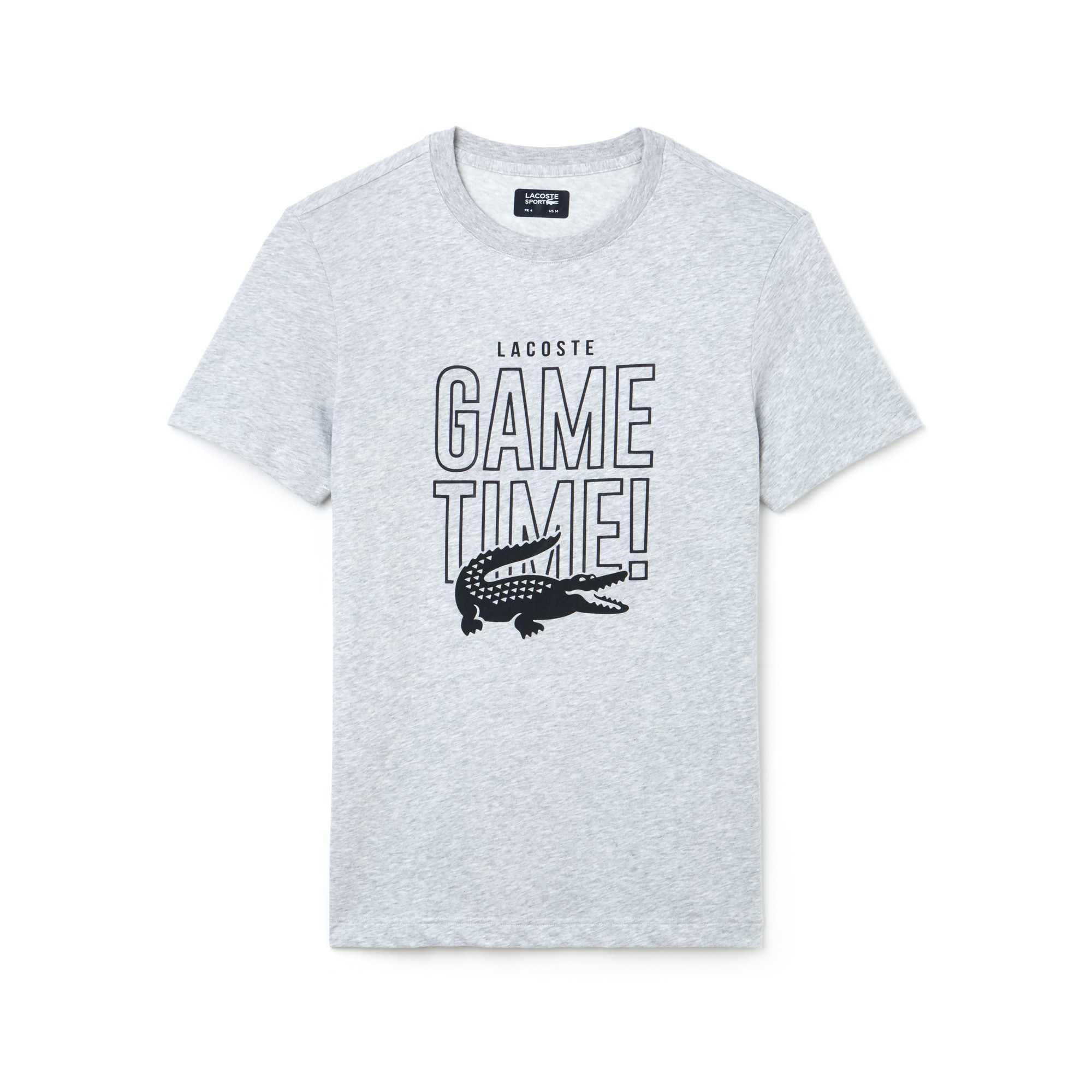 T-shirt a girocollo Tennis Lacoste SPORT in jersey tecnico Game Time