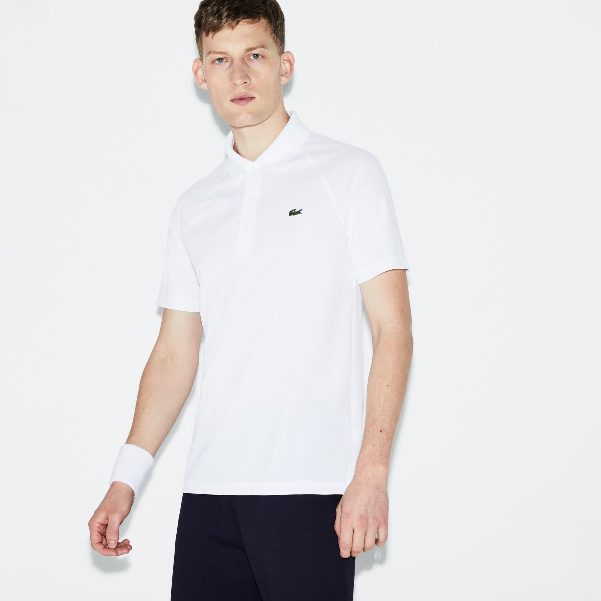 Polo Lacoste Tennis in maglia in tinta unita indemagliabile