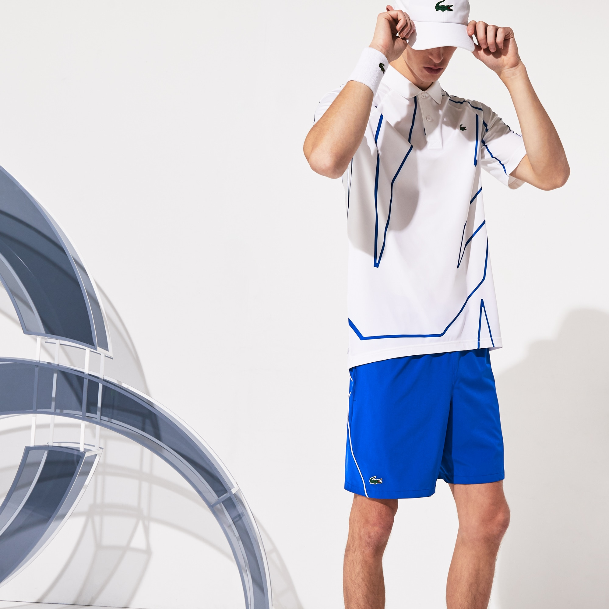 LACOSTE Sport Pantaloncini Da Uomo Blu
