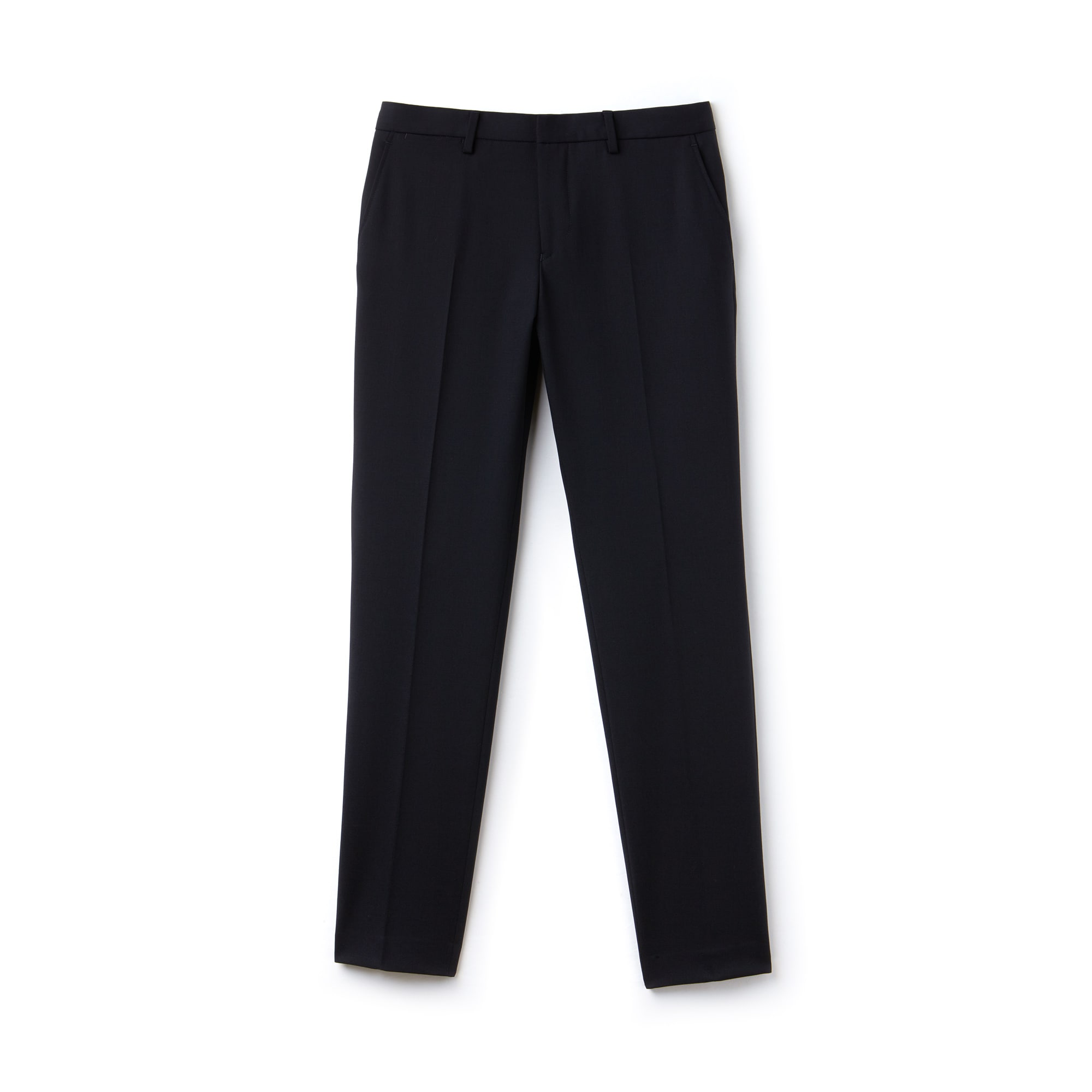 Pantaloni chino slim fit in twill stretch tinta unita