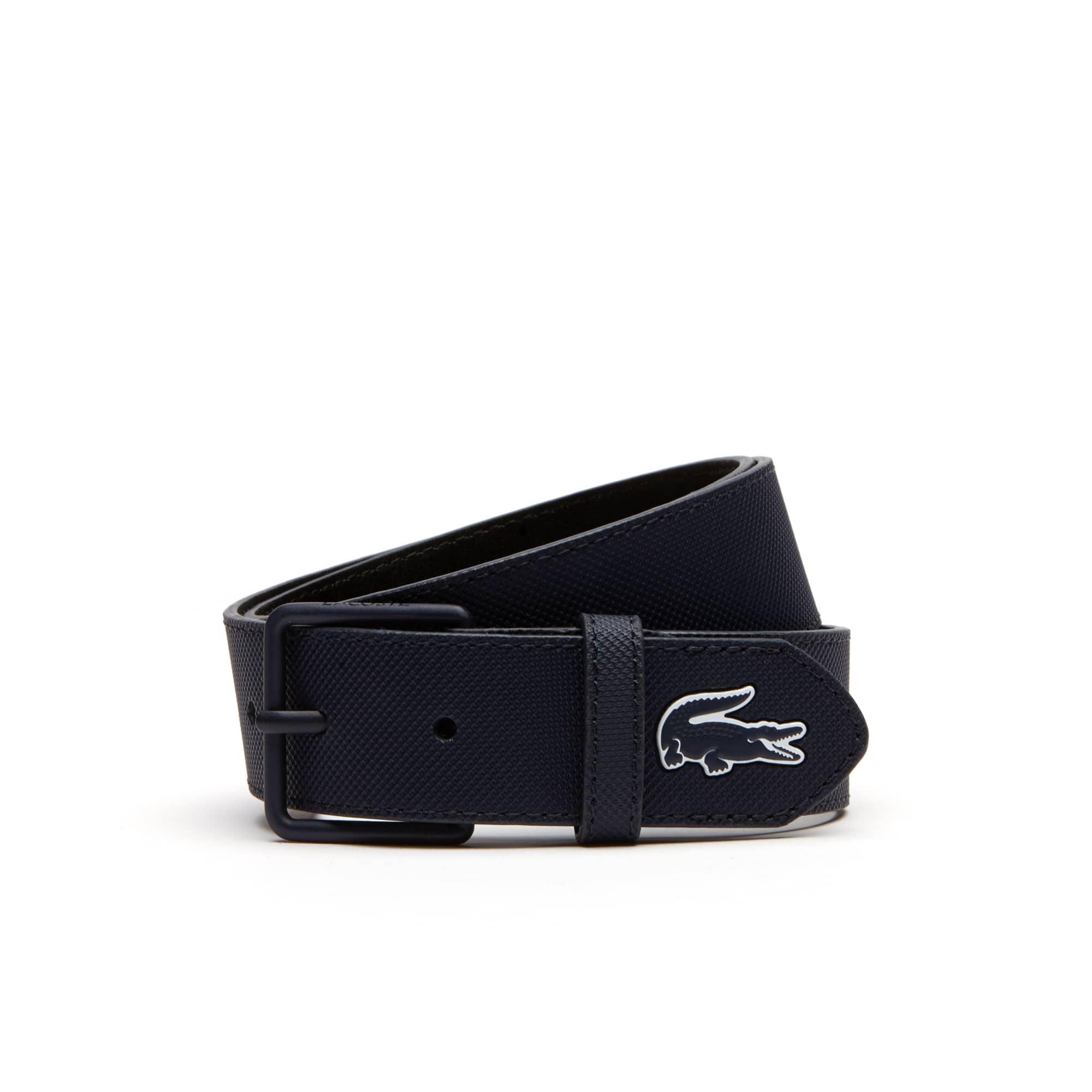 Cintura L.12.12 Concept monocroma con fibbia ad ardiglione