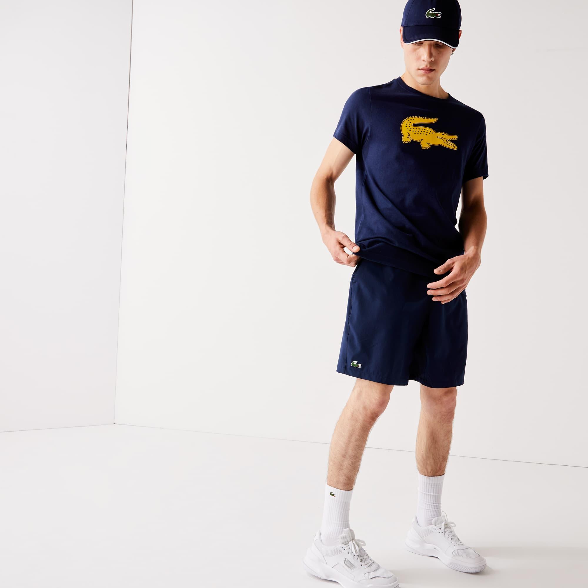 Pantaloncini Tennis Lacoste SPORT stretch tinta unita