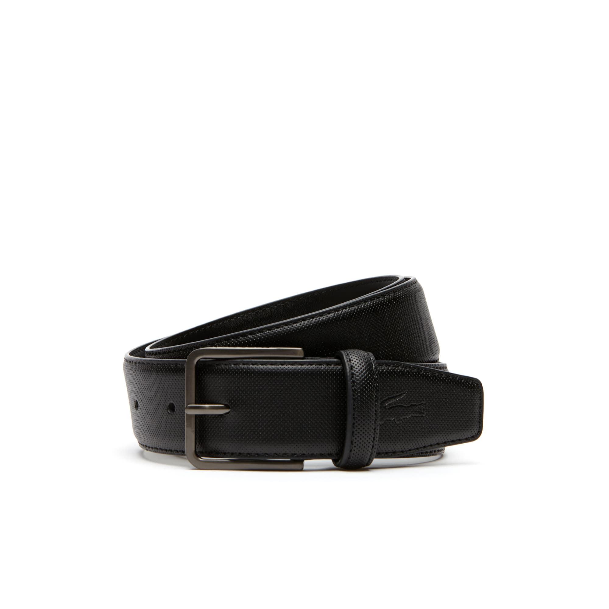 Cintura Men's Classic a petit piqué con fibbia ad ardiglione e rullo