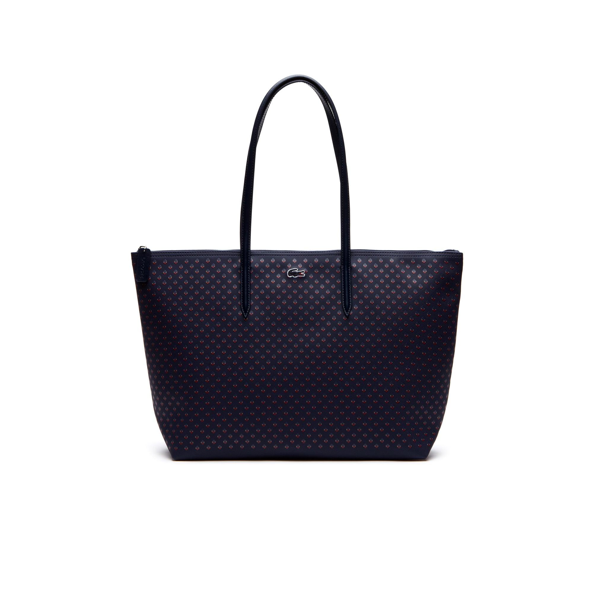 Shopping bag con zip L.12.12 Concept Fantaisie - formato grande