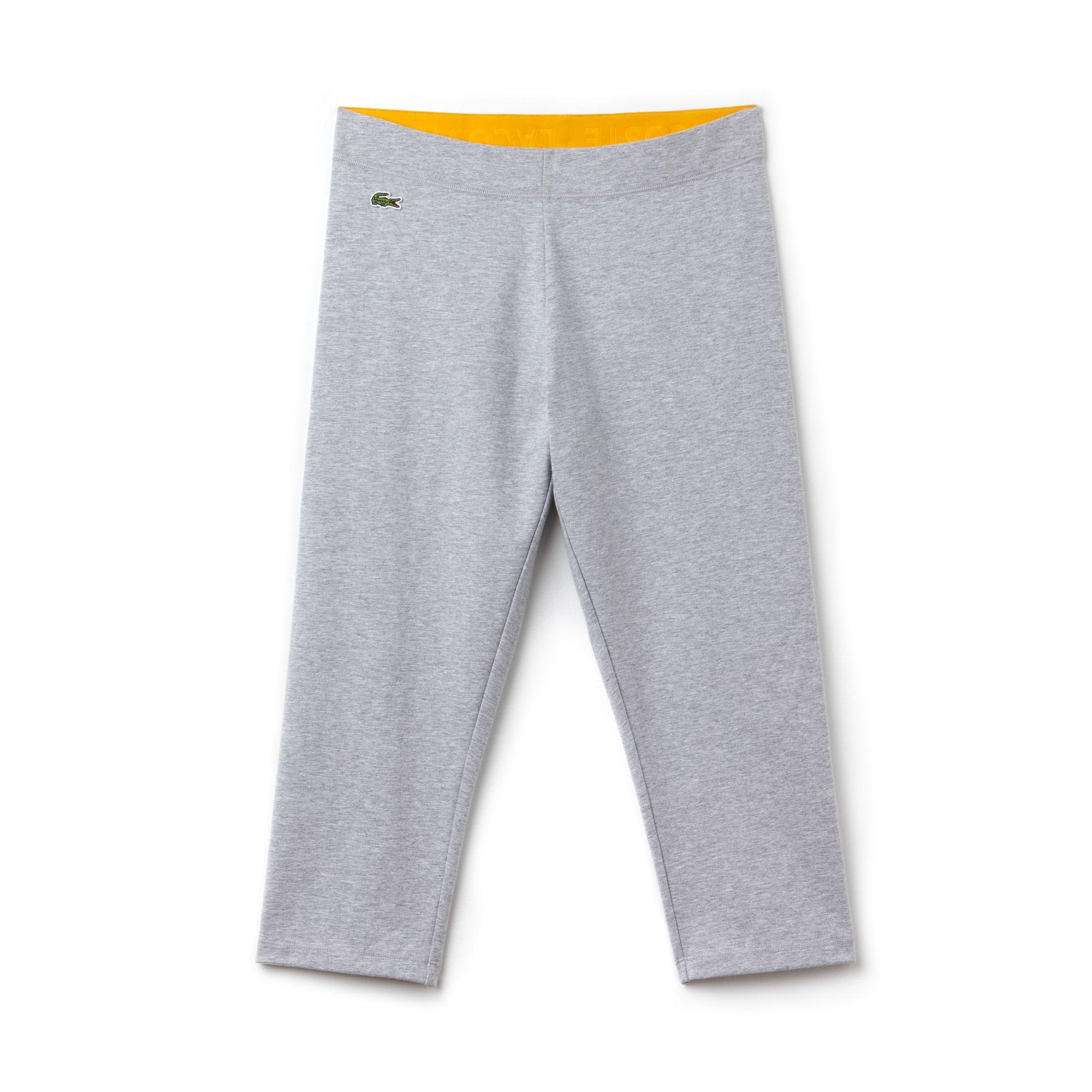 Leggings Tennis Lacoste SPORT in jersey stretch tinta unita