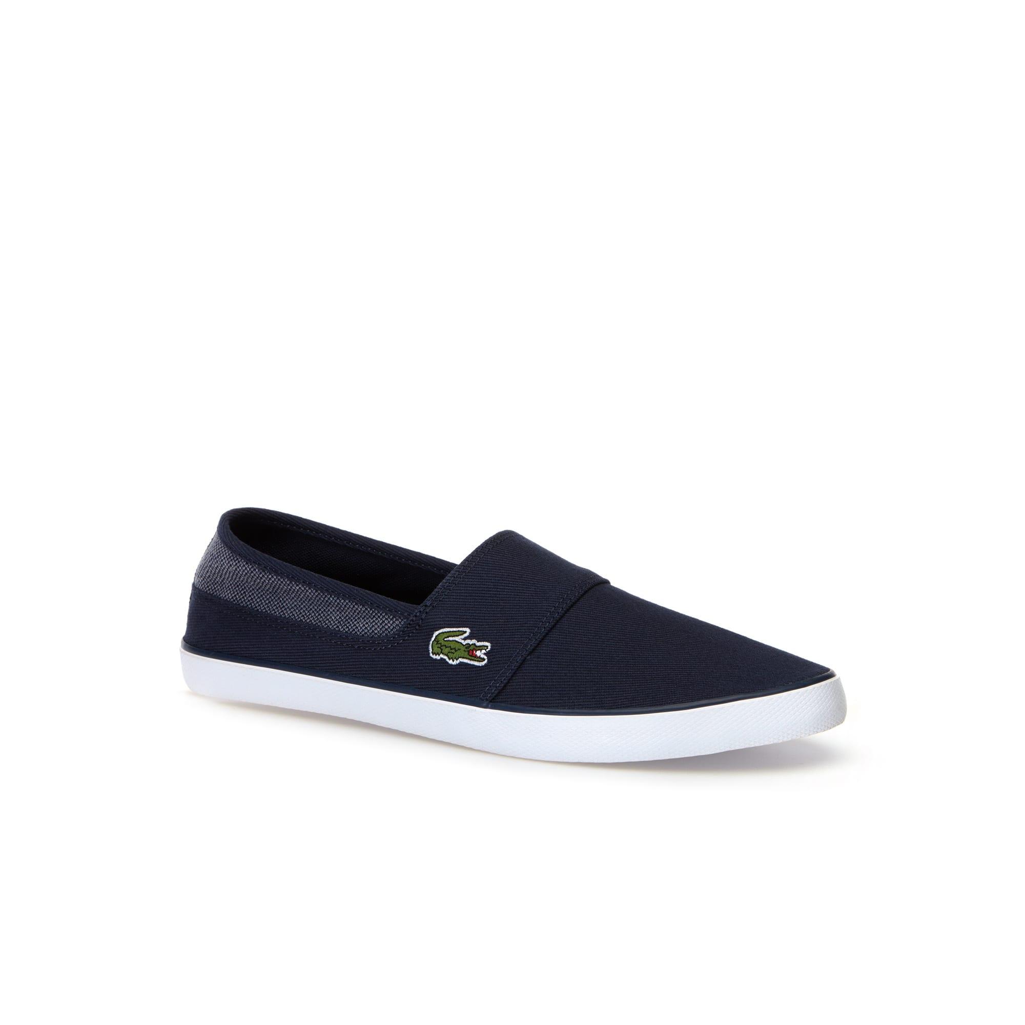 Sneakers senza stringhe da uomo Marice in tela di twill
