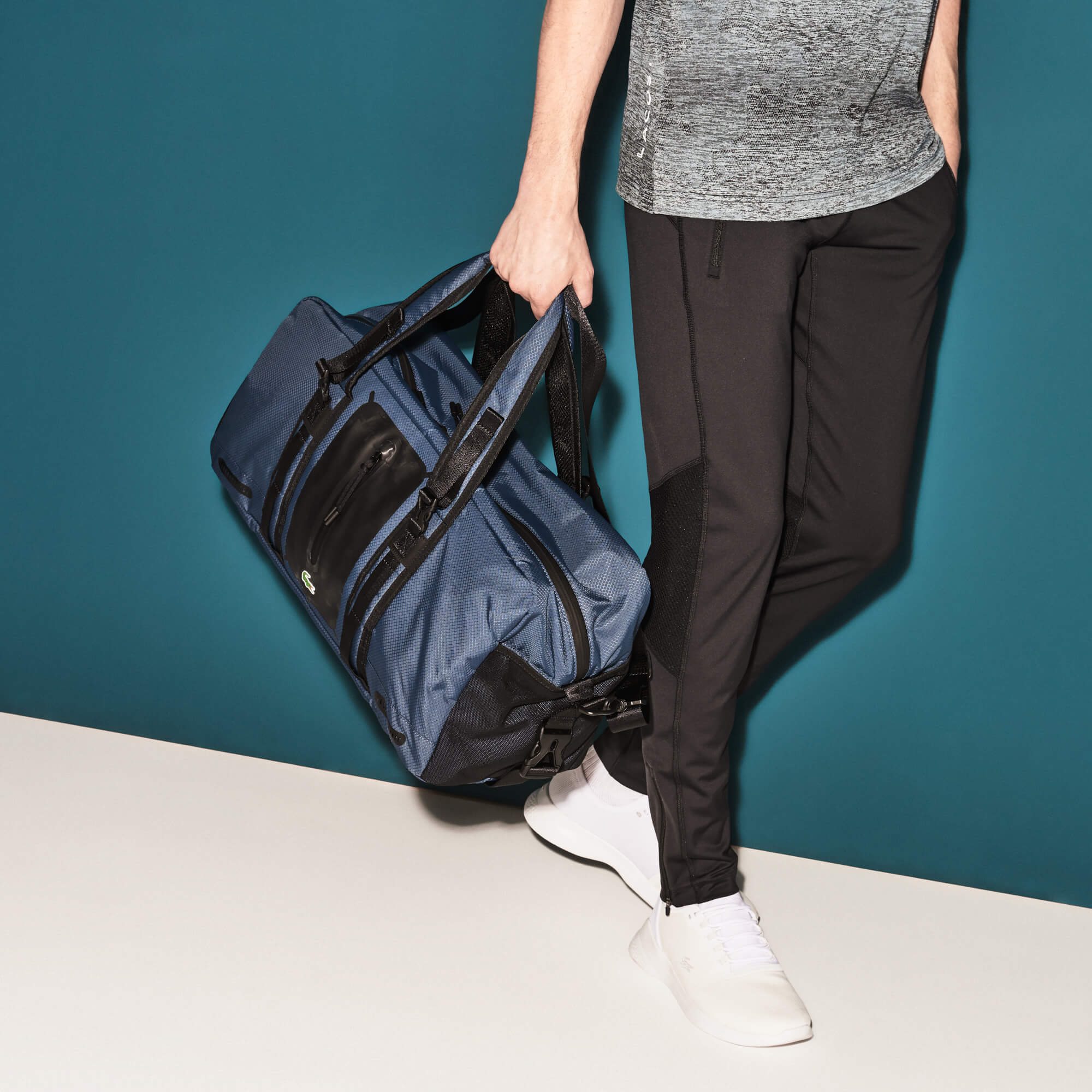 Borsa a cilindro Lacoste SPORT Match Point in nylon