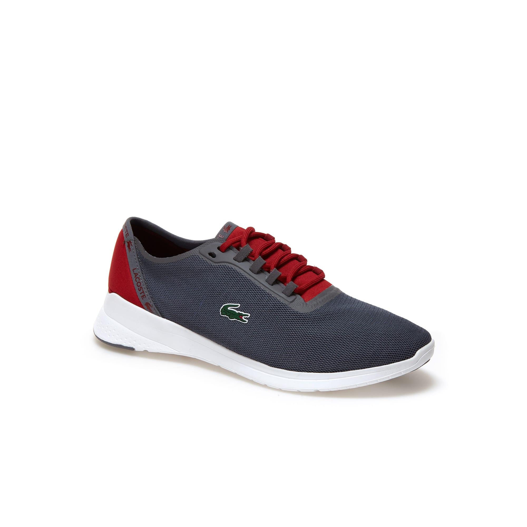Sneakers LT Fit in tessuto e fine rete tecnica