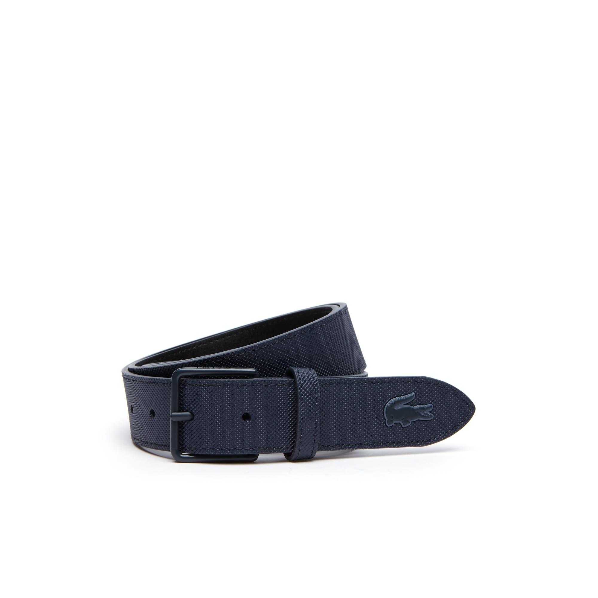 Cintura L.12.12 Concept in petit piqué con fibbia ad ardiglione