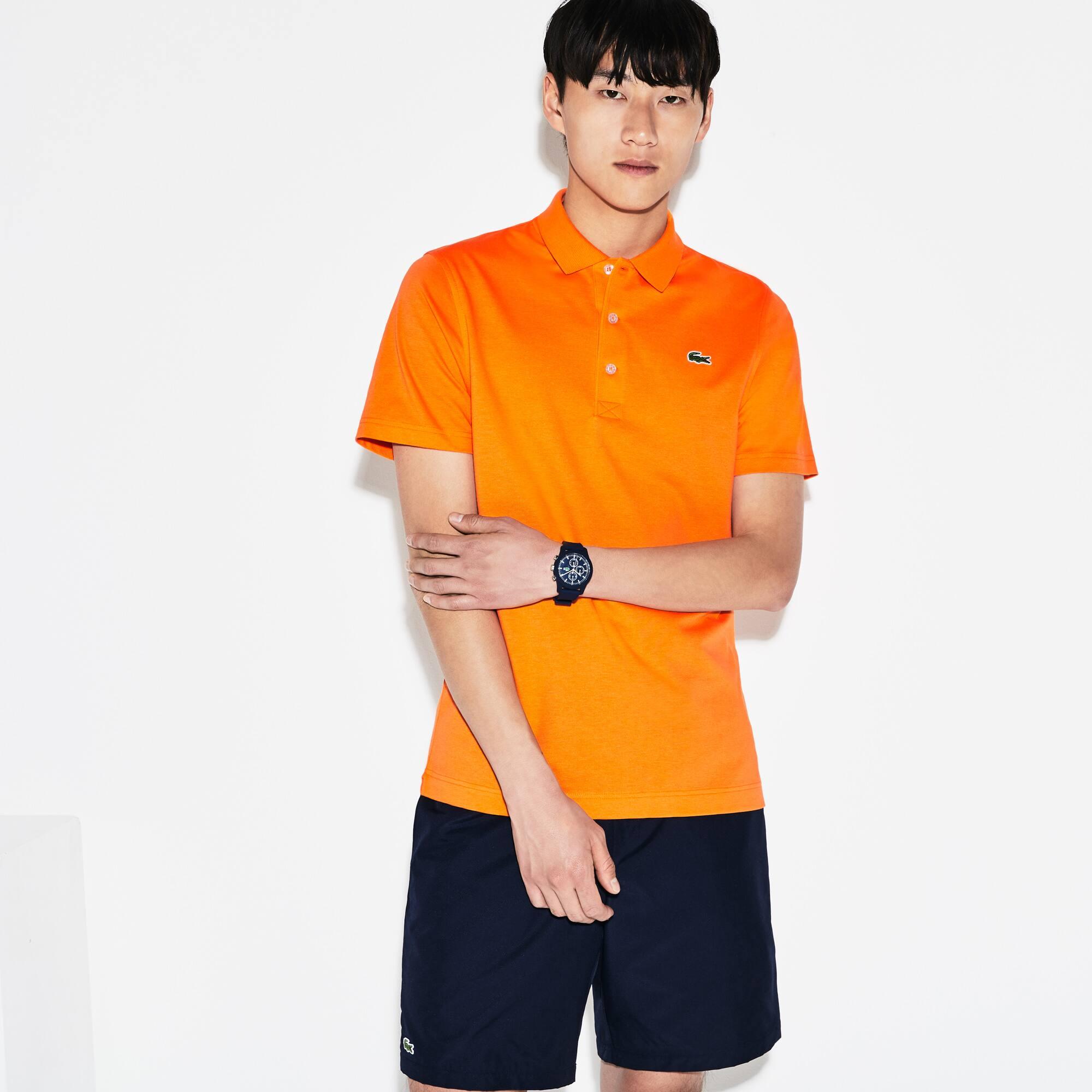 Polo Lacoste SPORT di taglio regolare in maglia ultraleggera