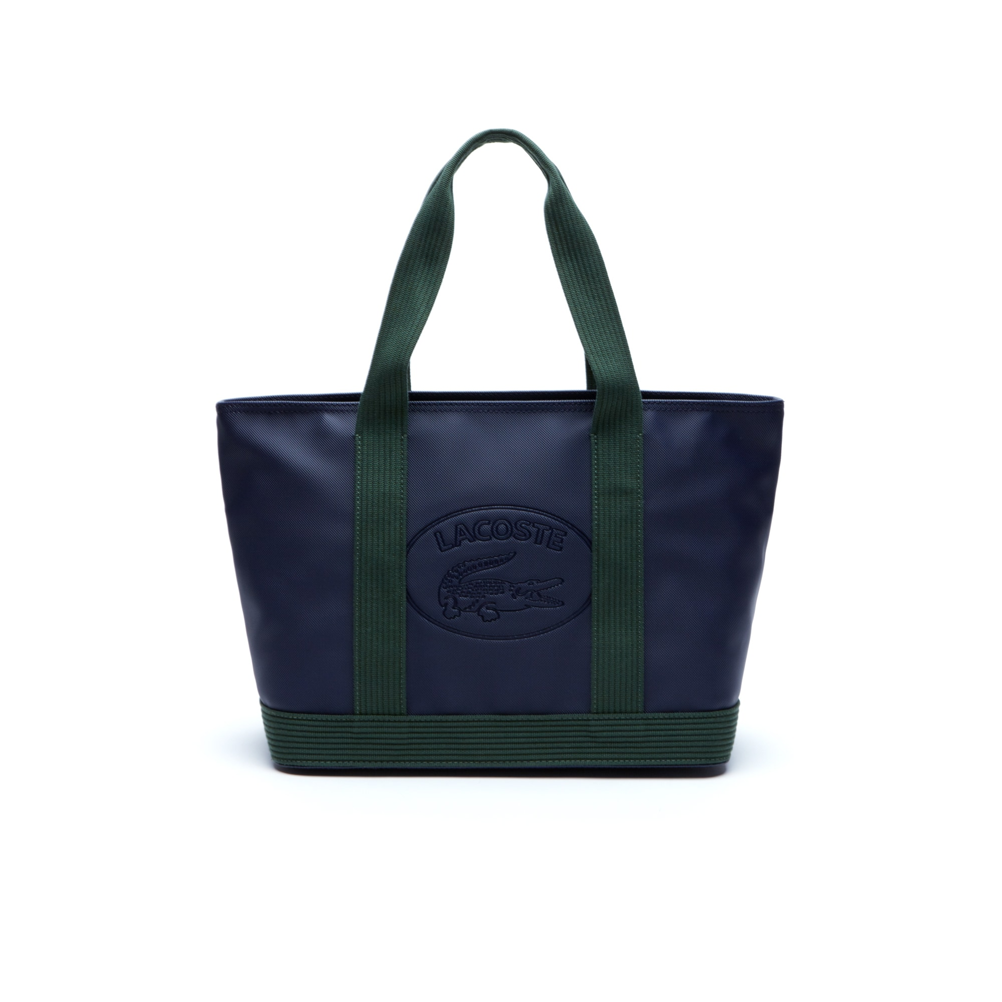 Shopping bag con zip Women's Classic in tela spalmata a piqué