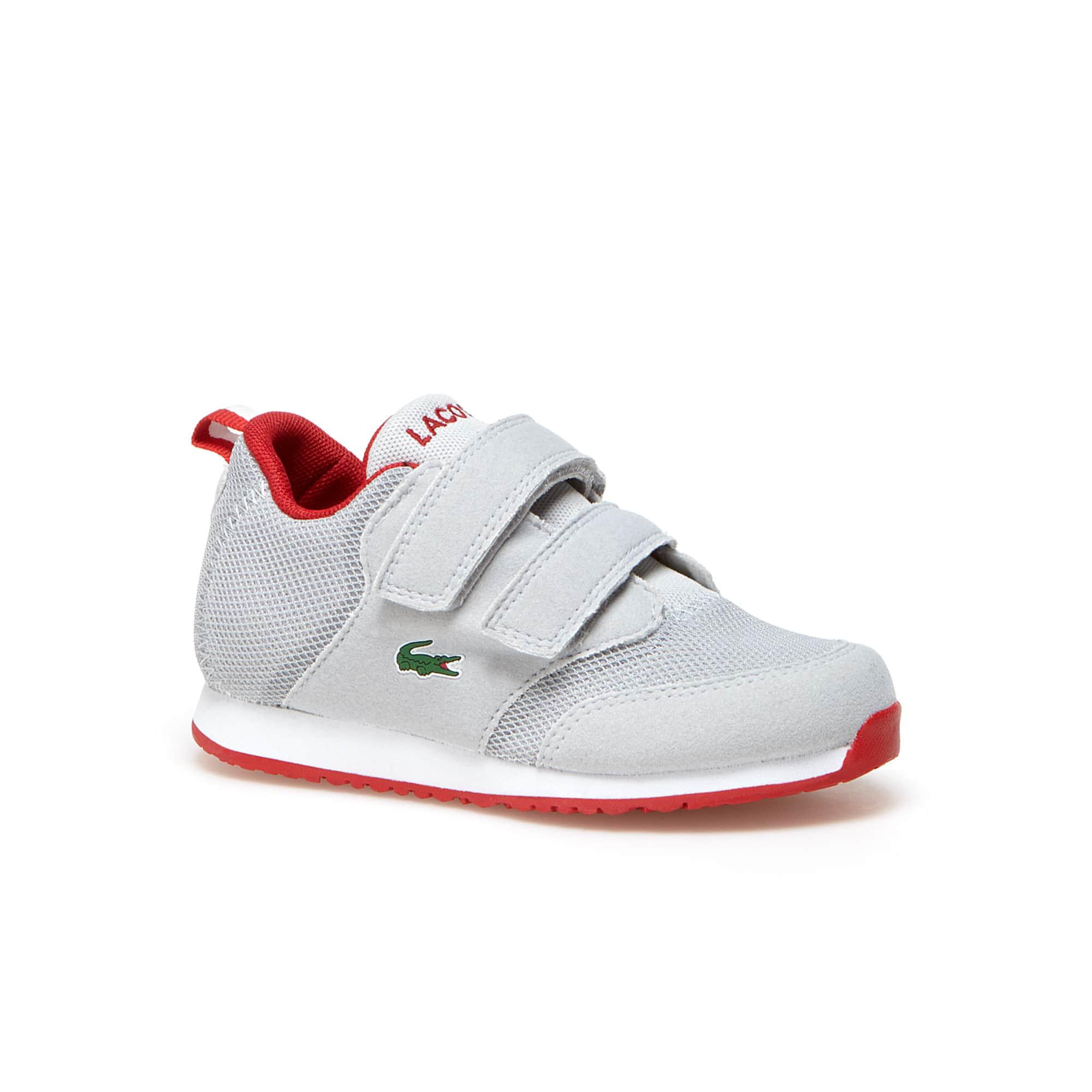 Sneakers Kids L.IGHT in tela aerata con chiusura rapida