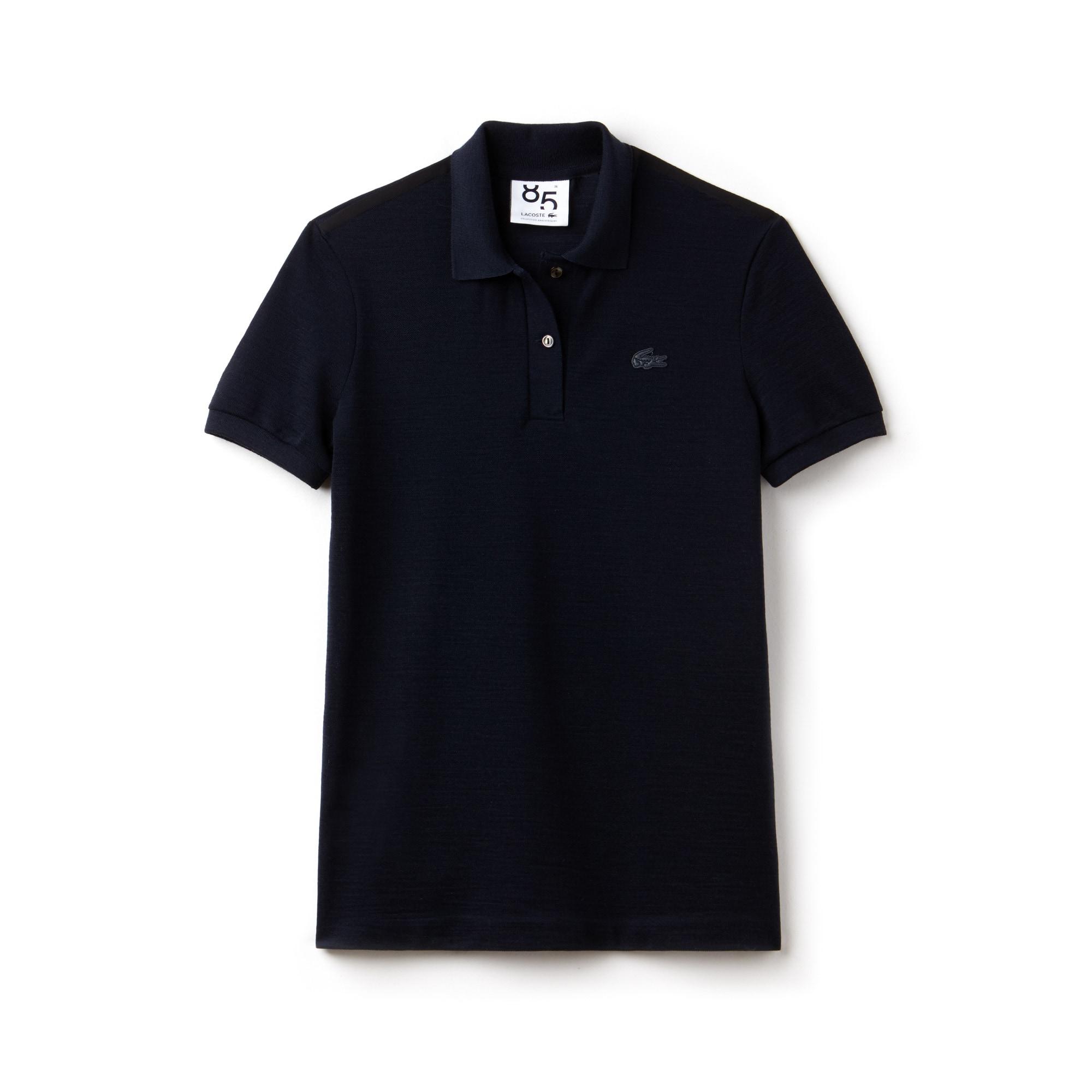 Polo classic fit Lacoste in piqué di lana Edizione limitata 85° anniversario