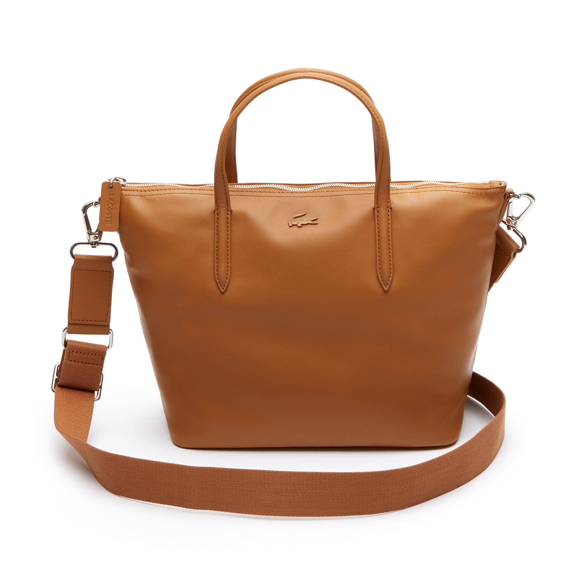 Shopping bag con cerniera in pelle L.12.12 da donna